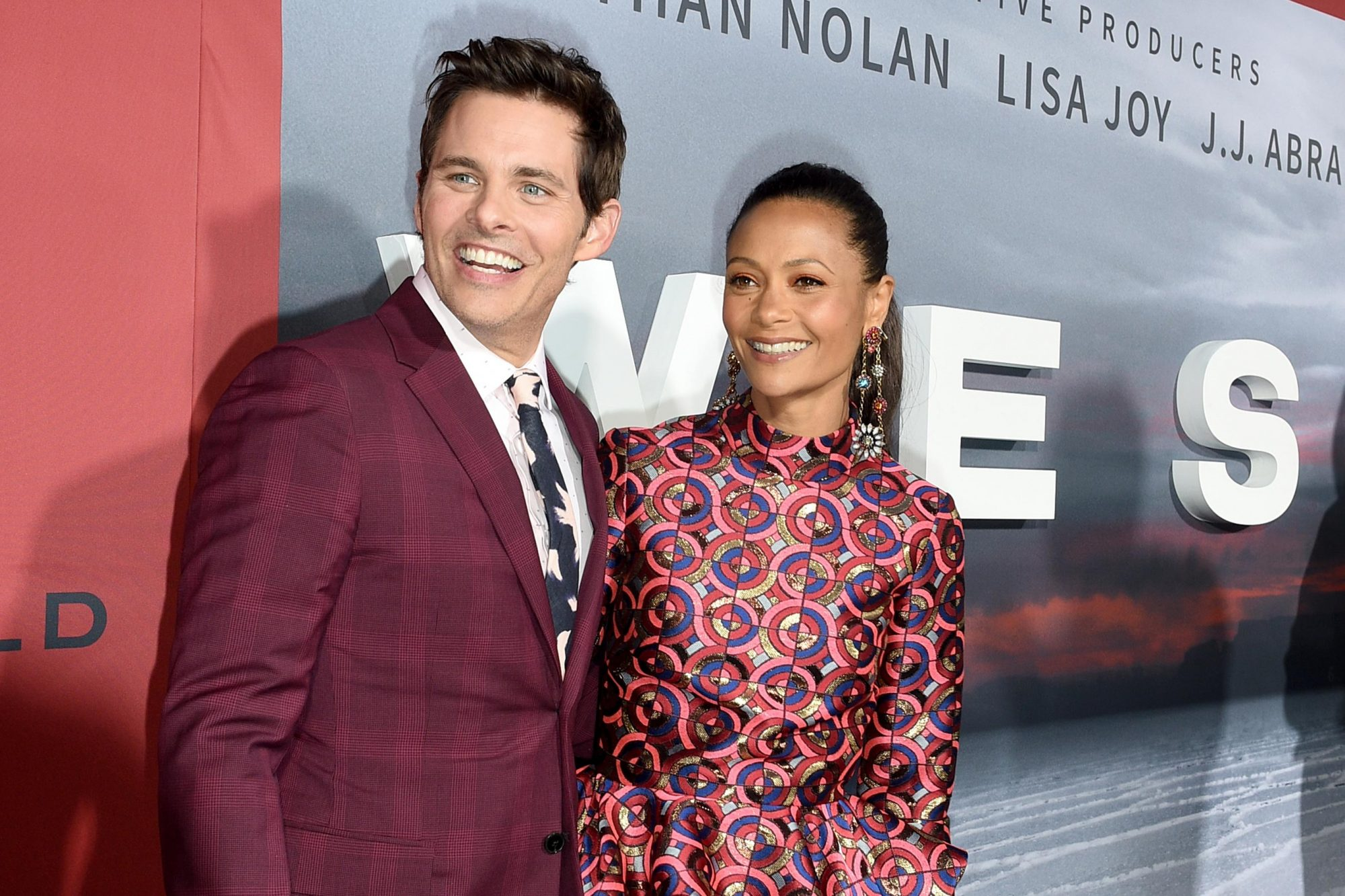 Thandie Newton and James Marsden