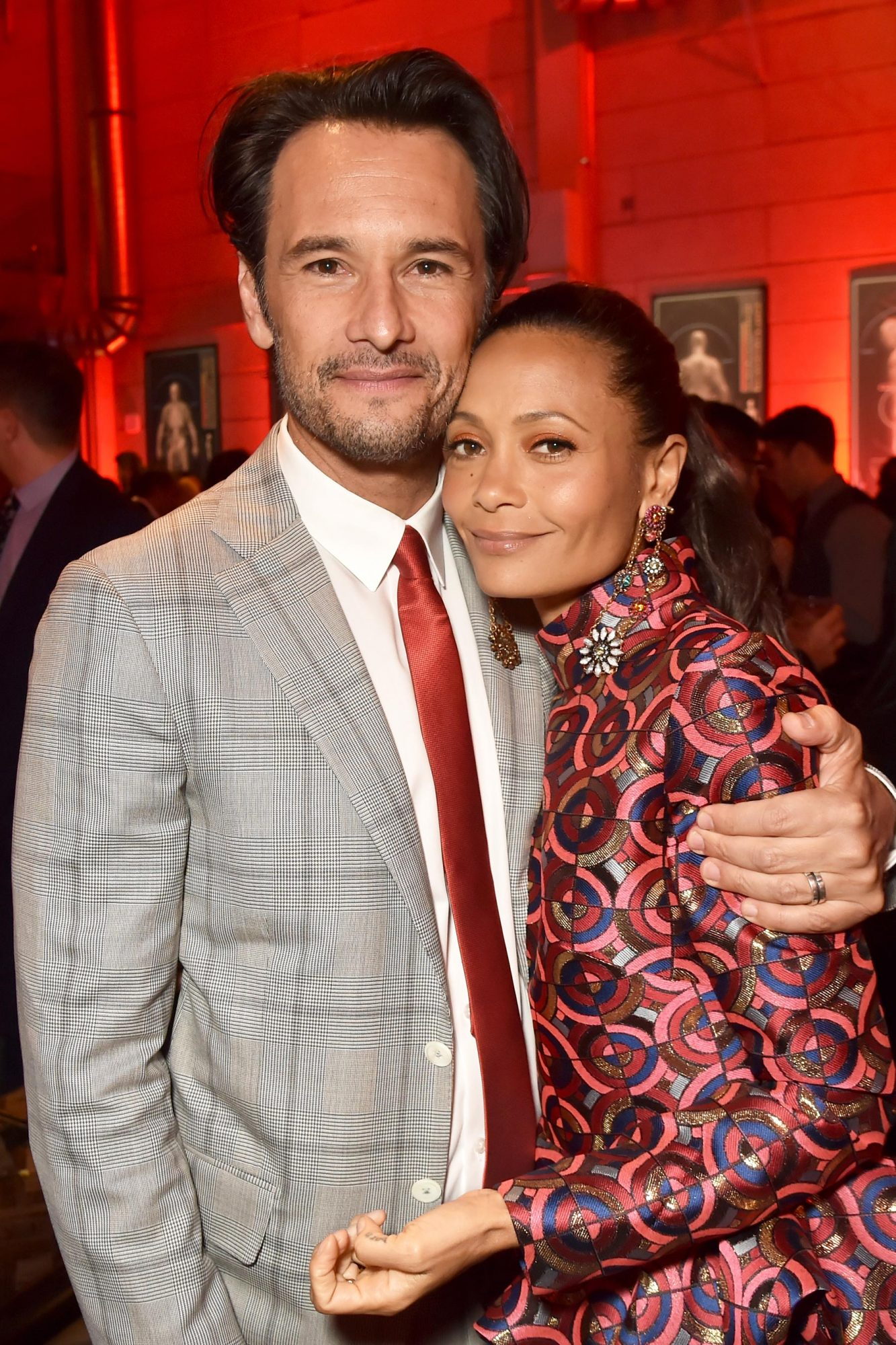 Rodrigo Santoro and Thandie Newton