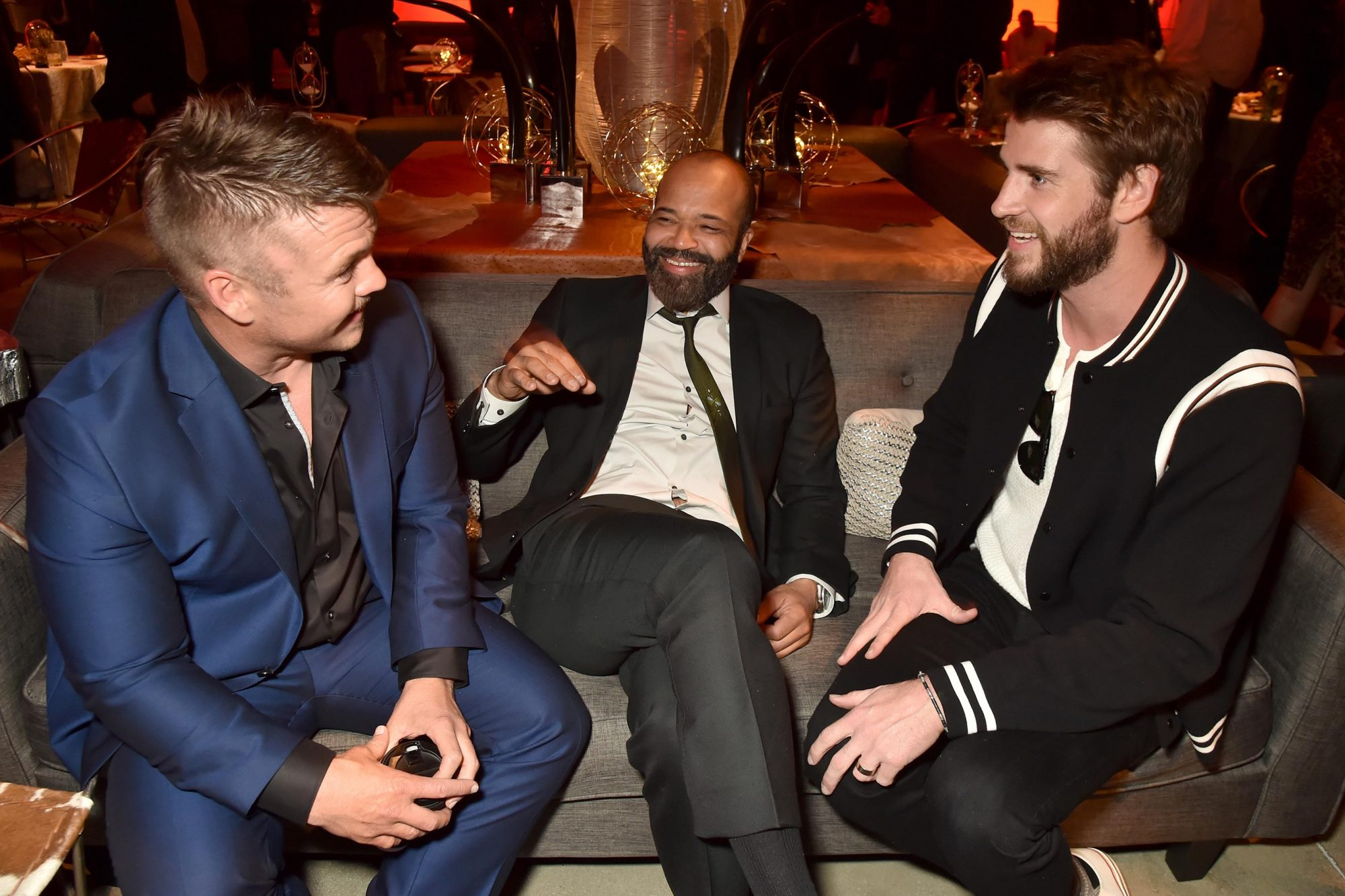 Luke Hemsworth, Jeffrey Wright, and Liam Hemsworth