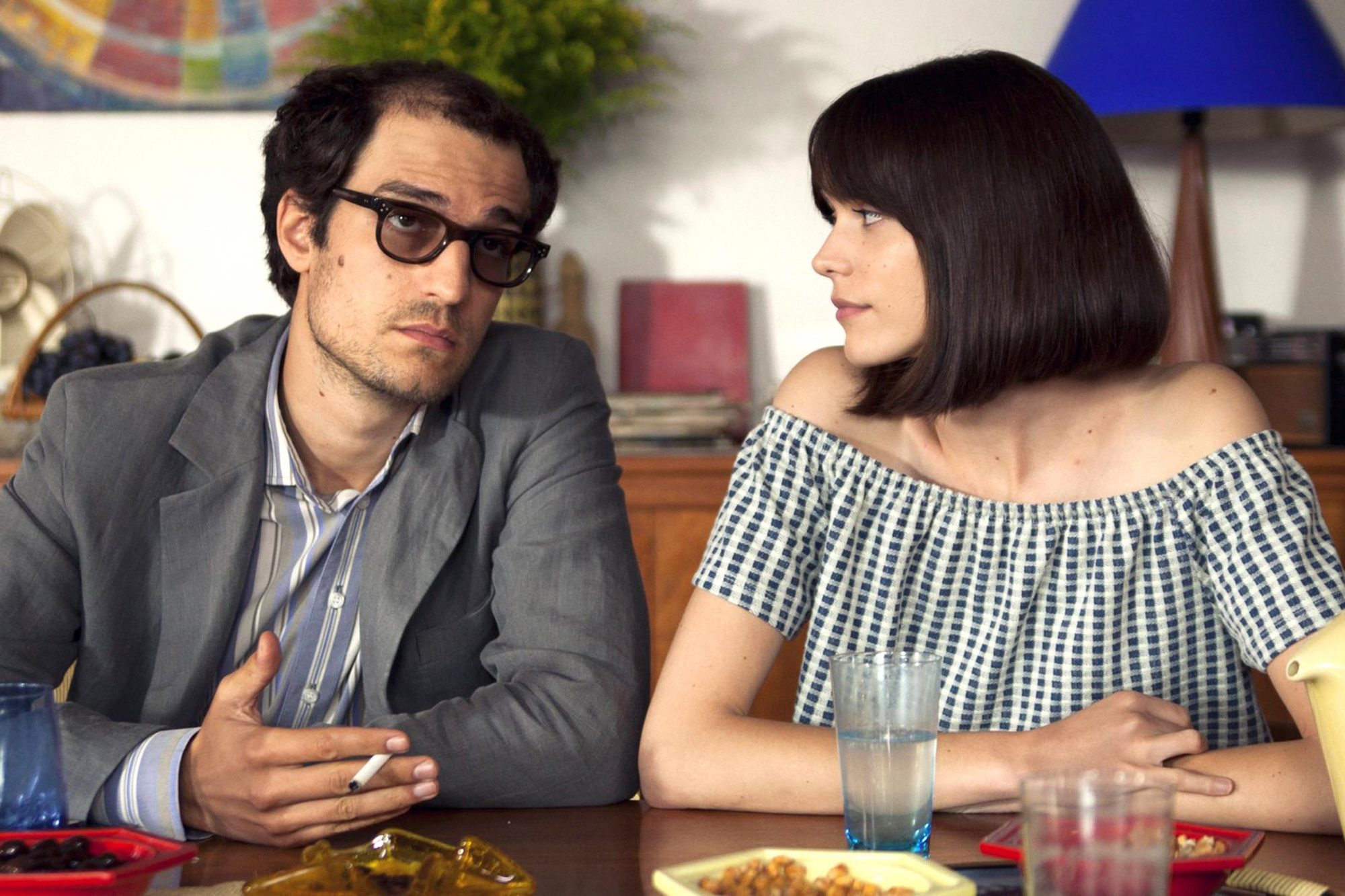 Godard Mon Amour (2018)Louis Garrel and Stacy MartinCR: Cohen Media Group