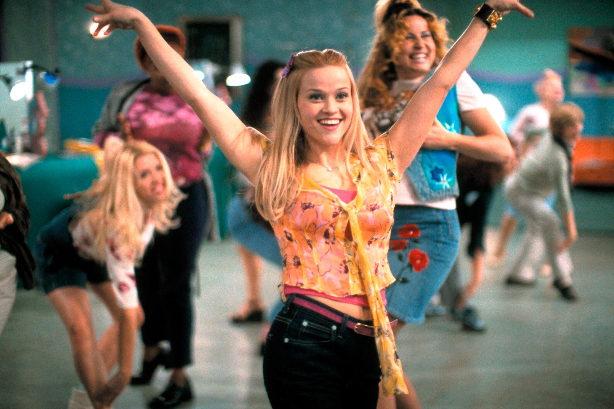Legally Blonde (2001)Directed by Robert LuketicShown: Reese Witherspoon