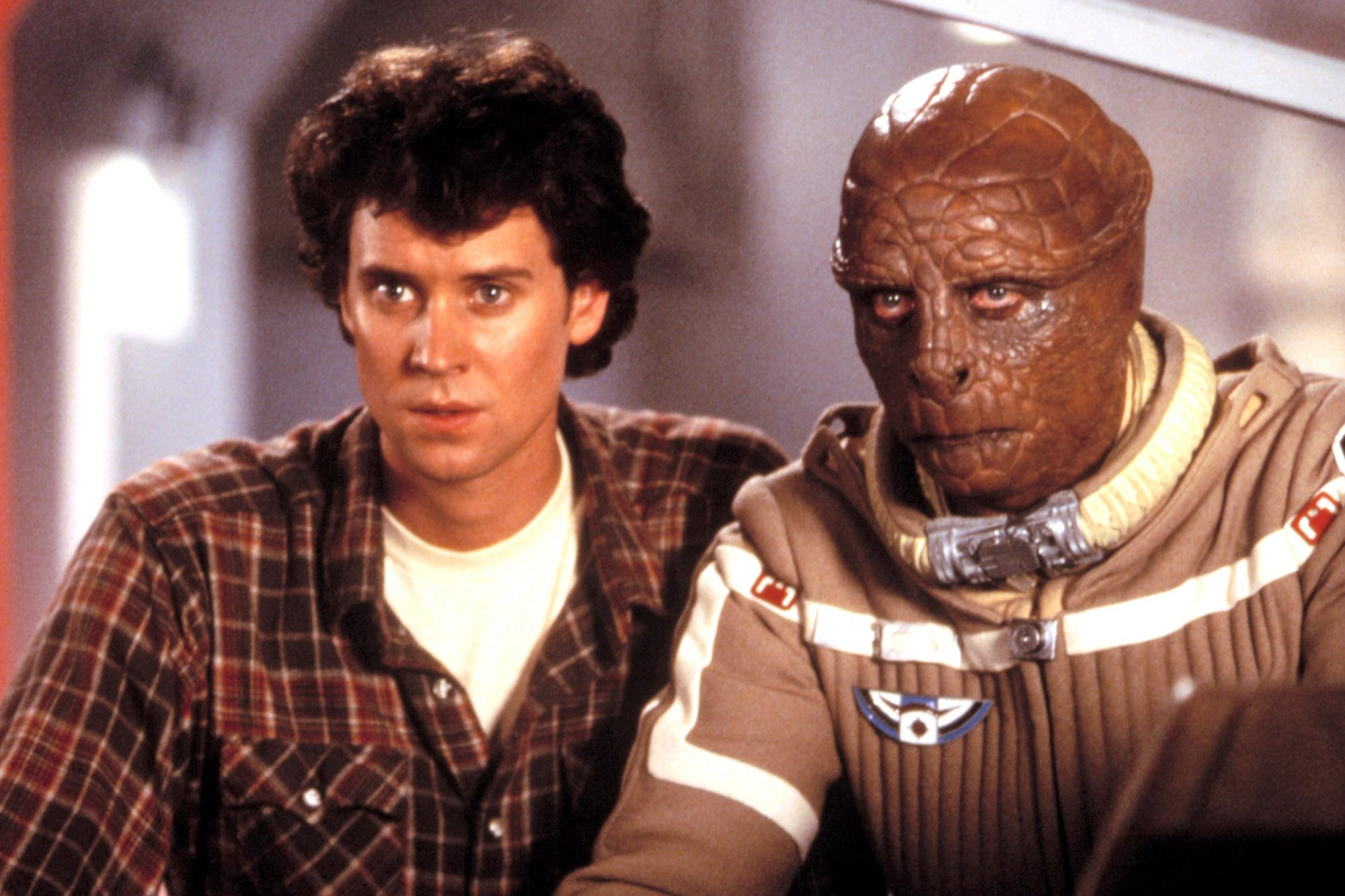 THE LAST STARFIGHTER, Lance Guest, Dan O'Herlihy, 1984. (c)Universal Pictures/ Courtesy: Everett Col
