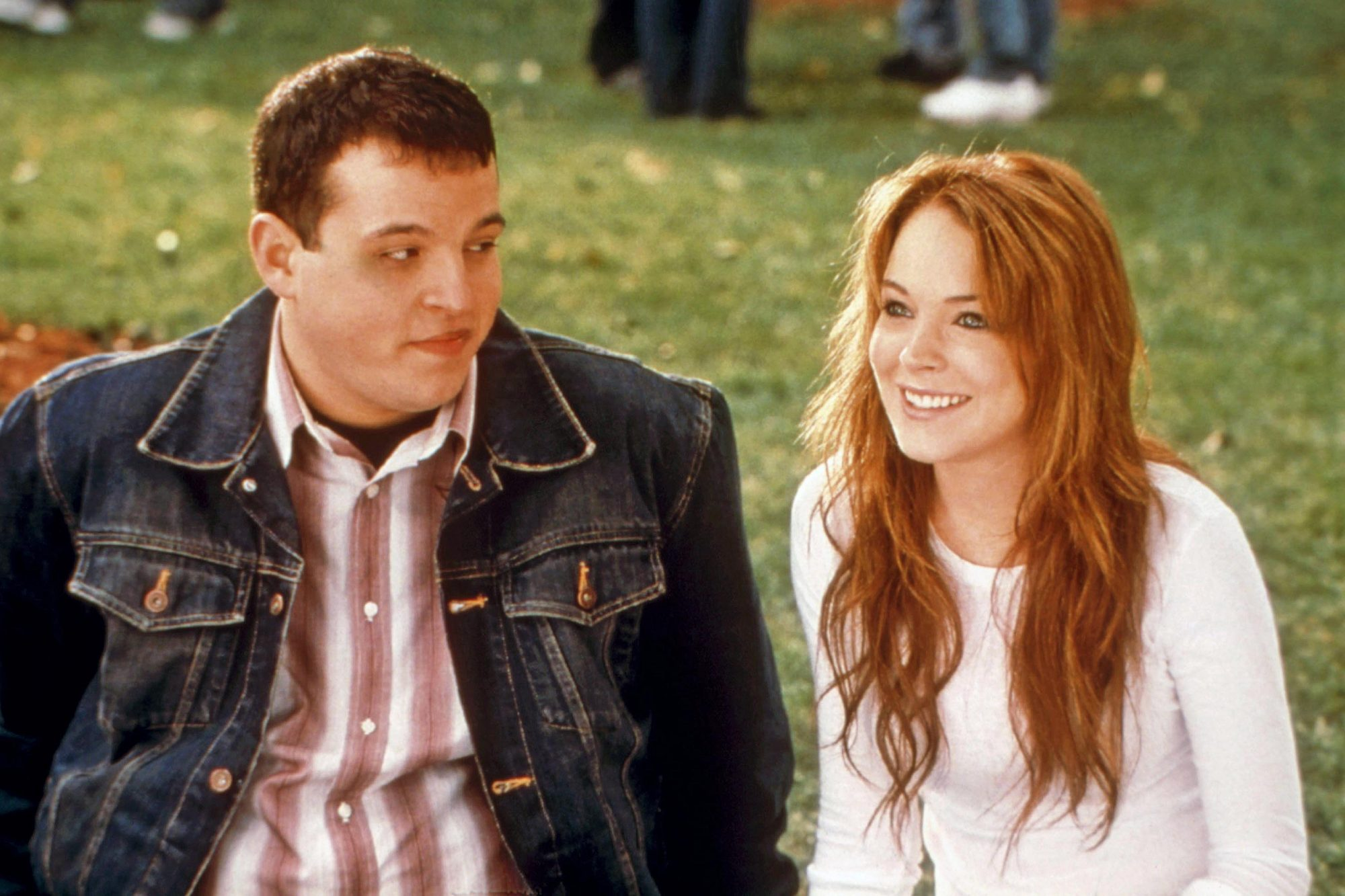 MEAN GIRLS, Daniel Franzese, Lindsay Lohan, 2004.u00A9Paramount/courtesy Everett Collection