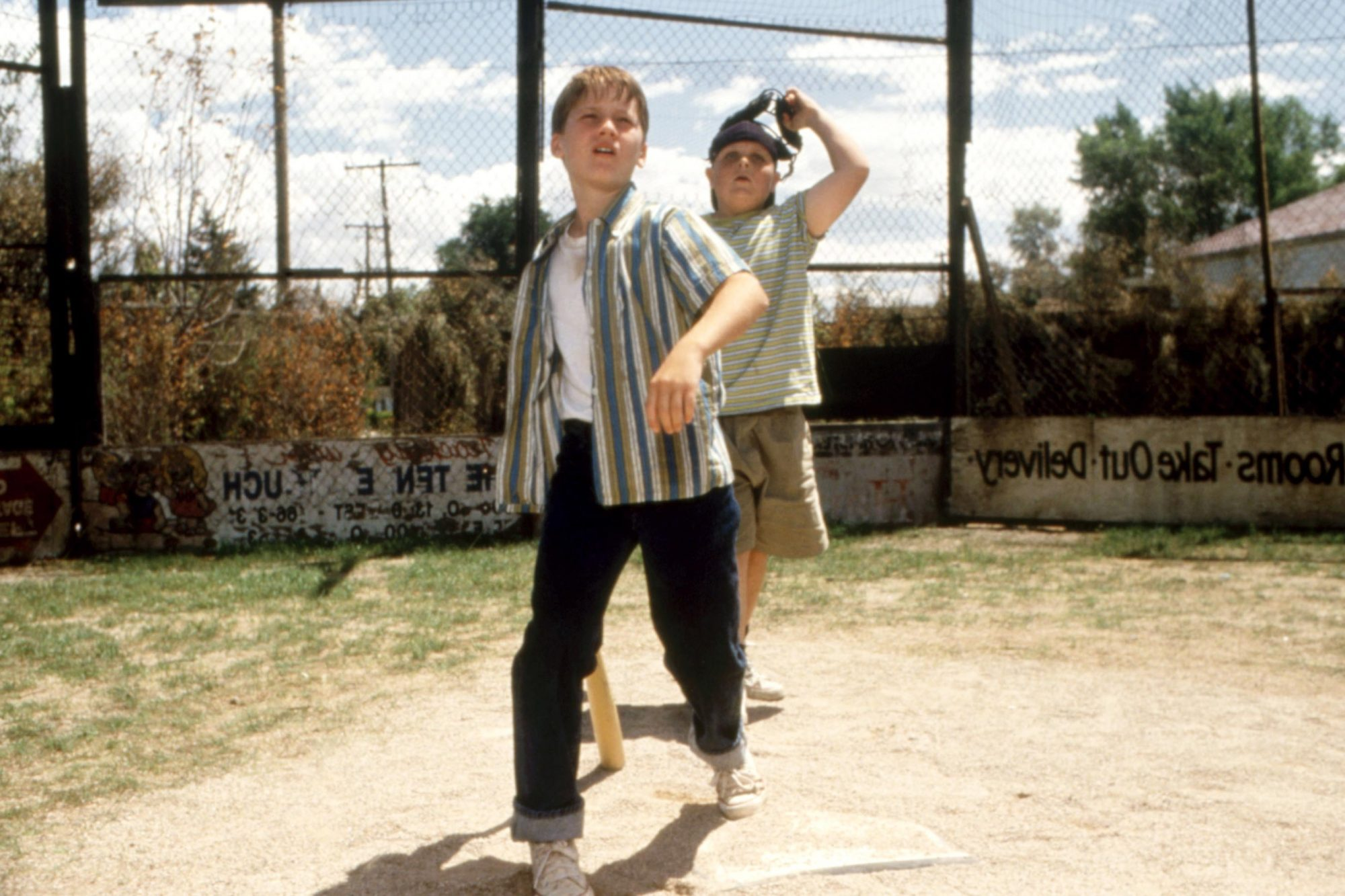 THE SANDLOT, Tom Guiry, Patrick Renna, 1993. TM and Copyright (c)20th Century Fox Film Corp. All rig