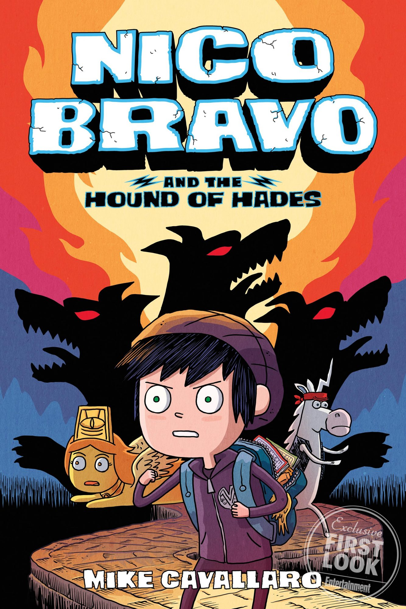 Nico Bravo and the Hound of Hades by Mike Cavallaro (April 23)