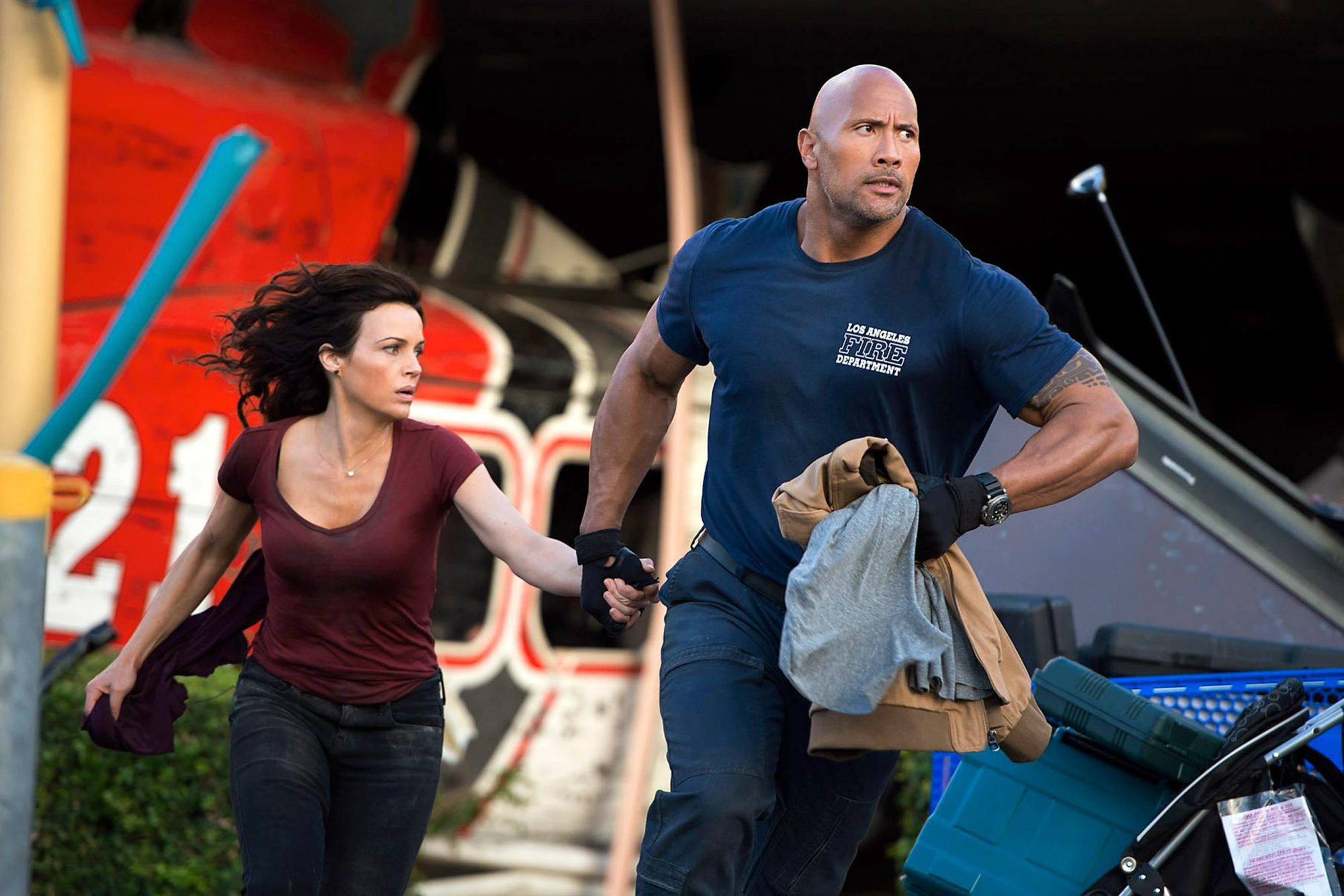 San Andreas (2015)Dwayne Johnson