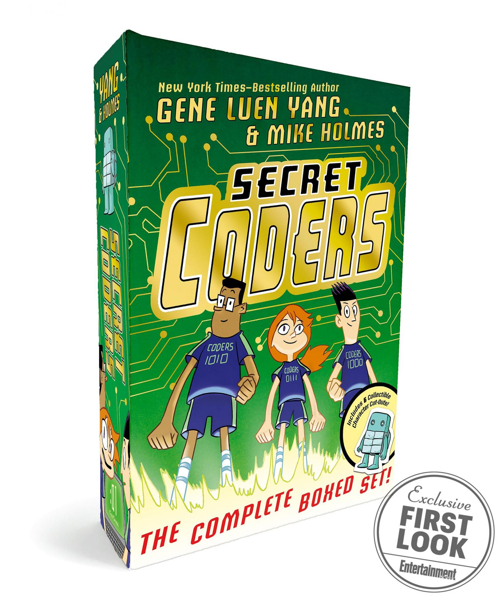 Secret Coders: The Complete Boxed Set by Gene Luen Yang and Mike Holmes (Feb. 26)