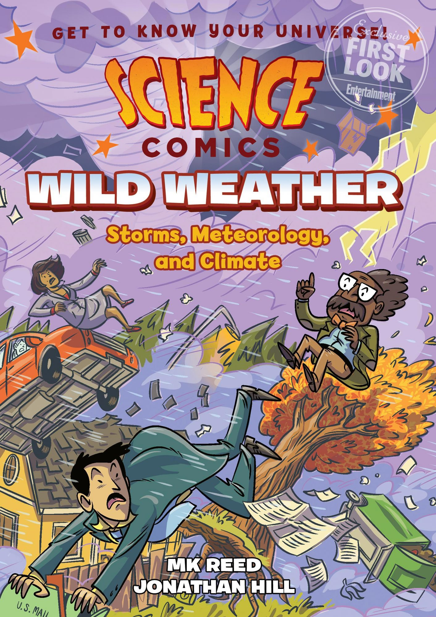 Science Comics: Wild Weather by MK Reed and Jonathan Hunt (April 16)