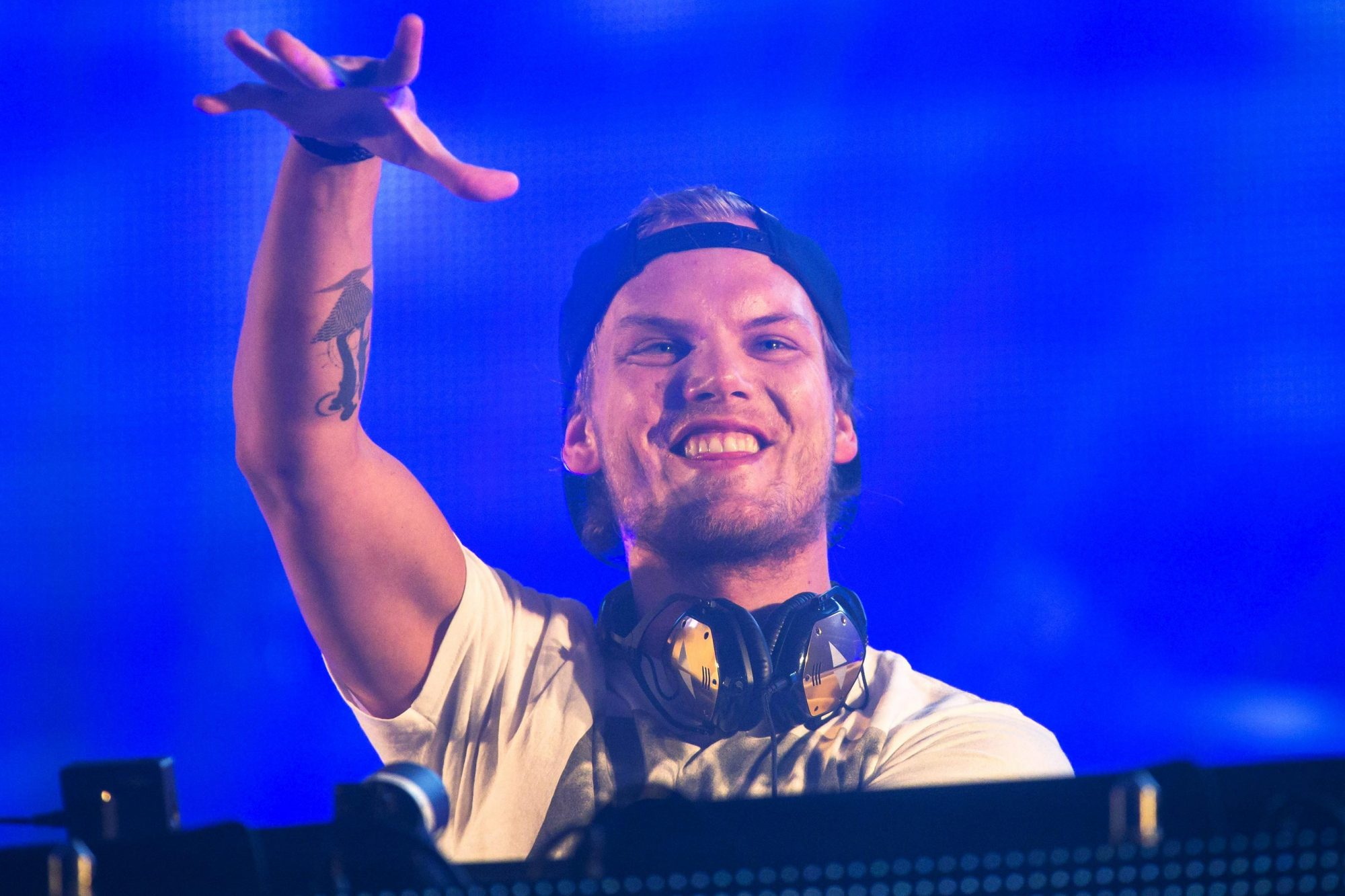 Avicii in concert, Summerburst festival, Nya Ullevi, Gothenburg, Sweden - 30 May 2015