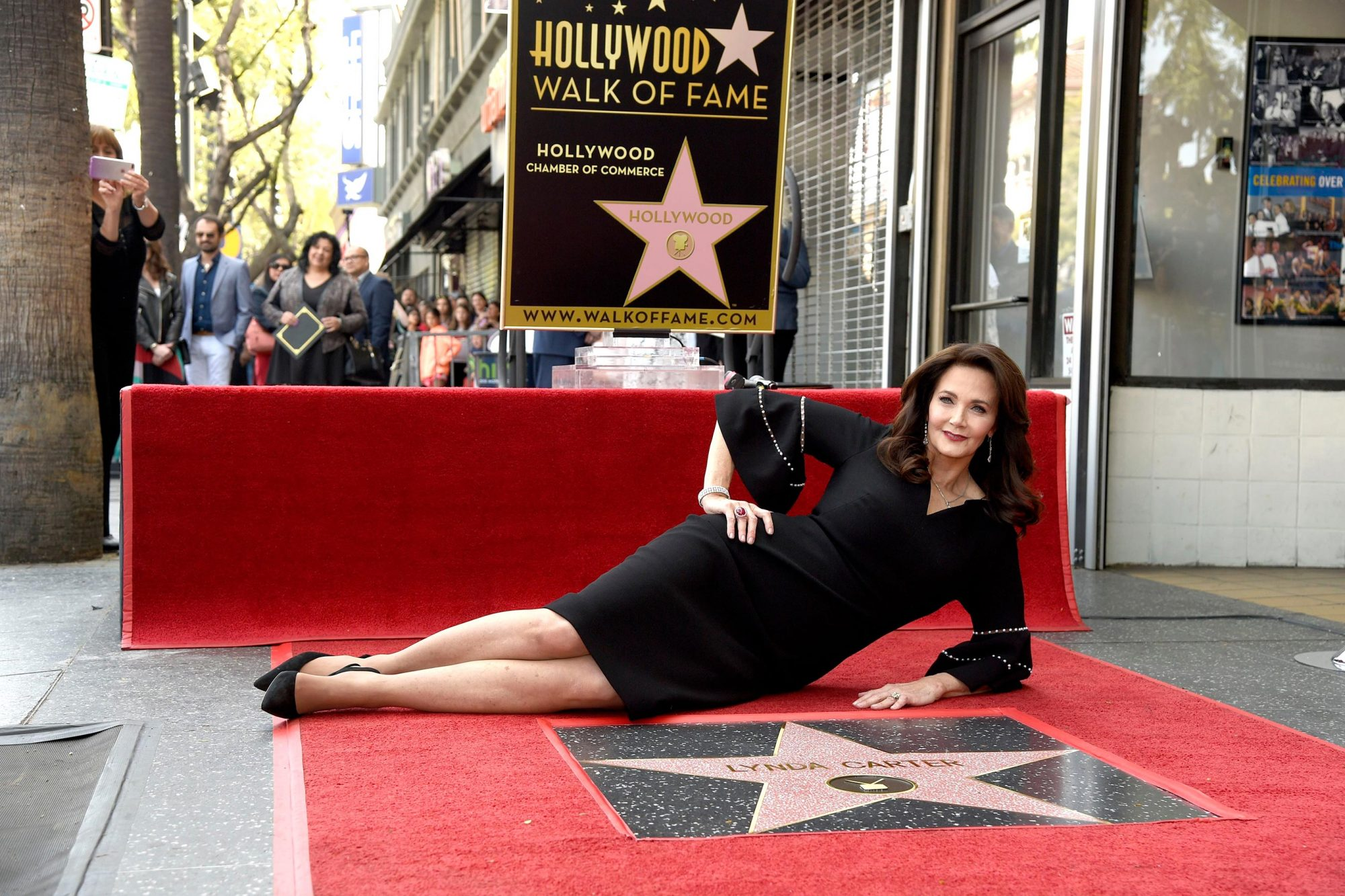 Lynda Carter Honored with a Star on the Hollywood Walk of Fame, Los Angeles, USA - 03 Apr 2018