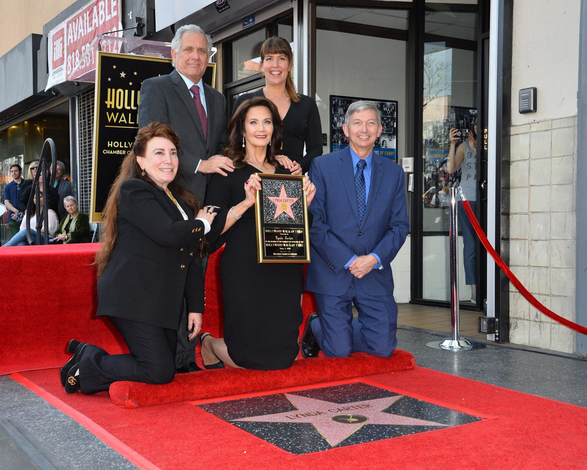Lynda Carter honored with a Star on the Hollywood Walk of Fame, Los Angeles, USA - 3 Apr 2018