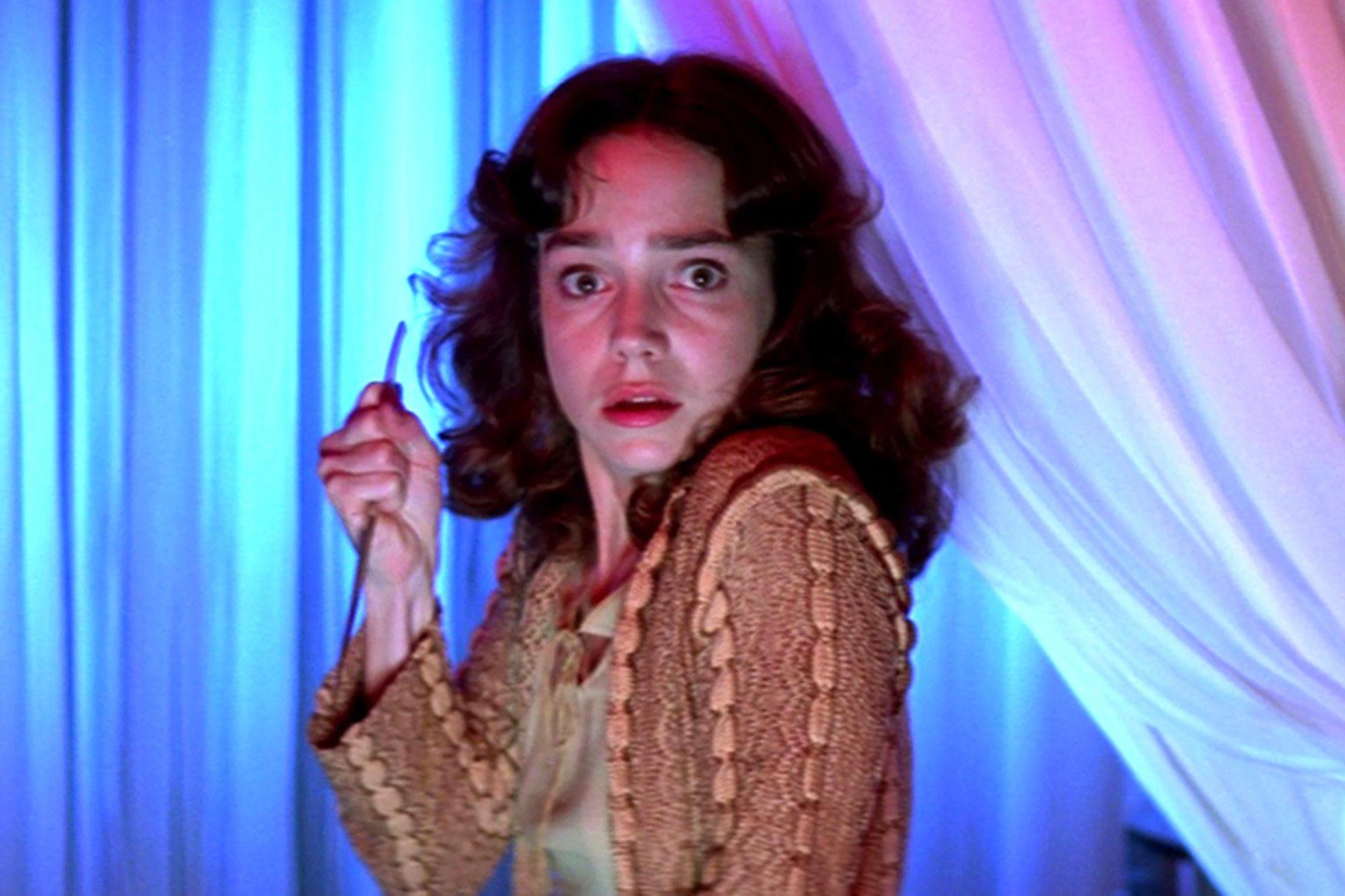 SUSPIRIA, Jessica Harper, 1977 (screen grab) CR: 20th Century Fox