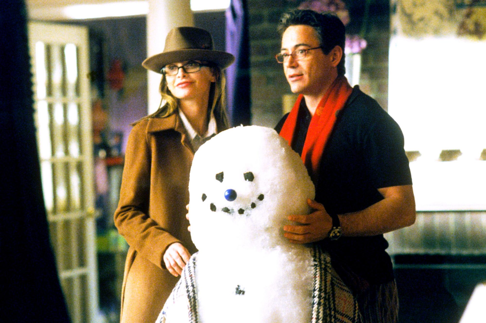 ALLY MCBEAL, Calista Flockhart, Robert Downey Jr., 4th Season, 1997-2002, TM and Copyright (c) 20th