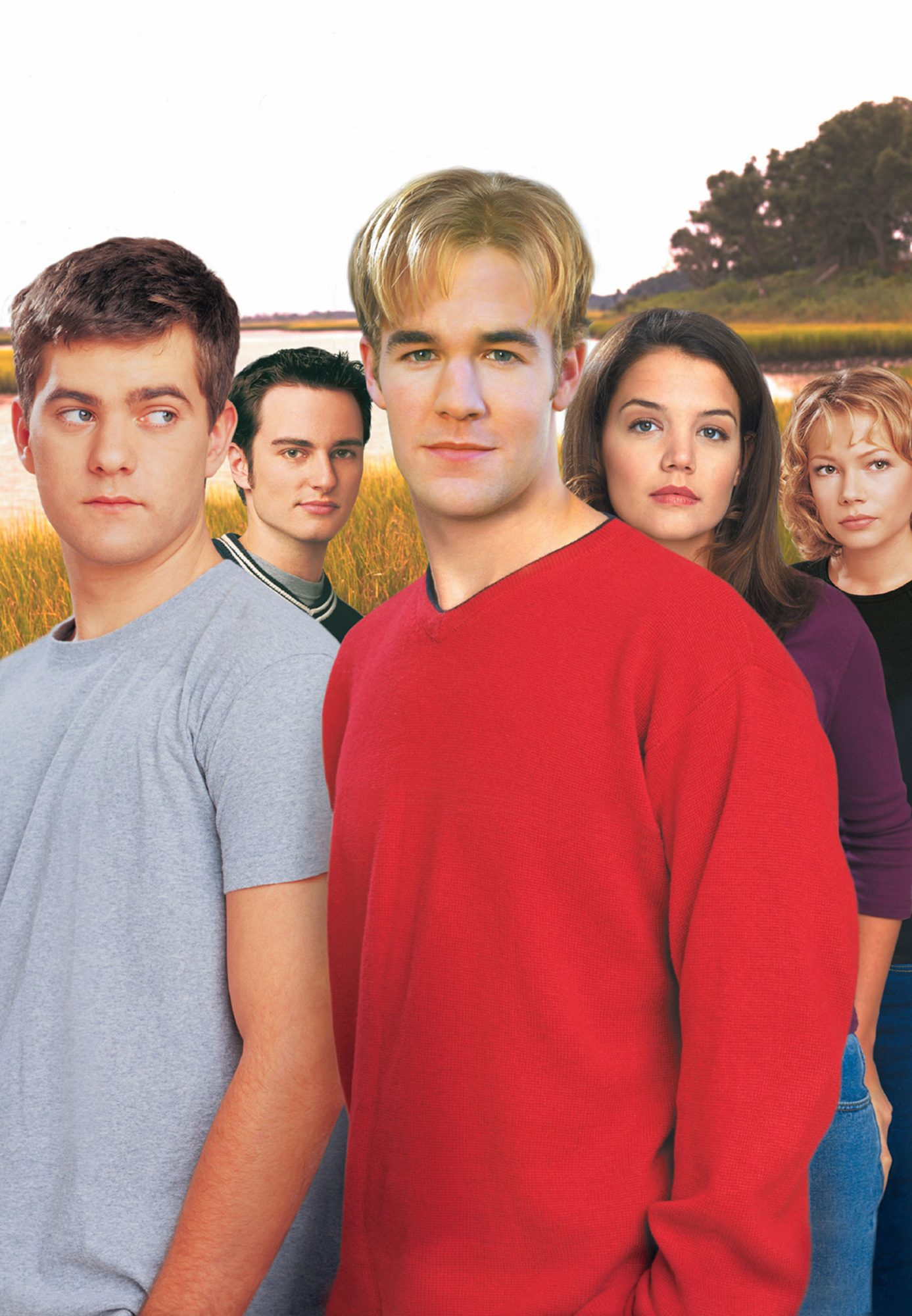 DAWSON'S CREEK, Joshua Jackson, Kerr Smith, James van Der Beek, Katie Holmes, Michelle Williams, (Se