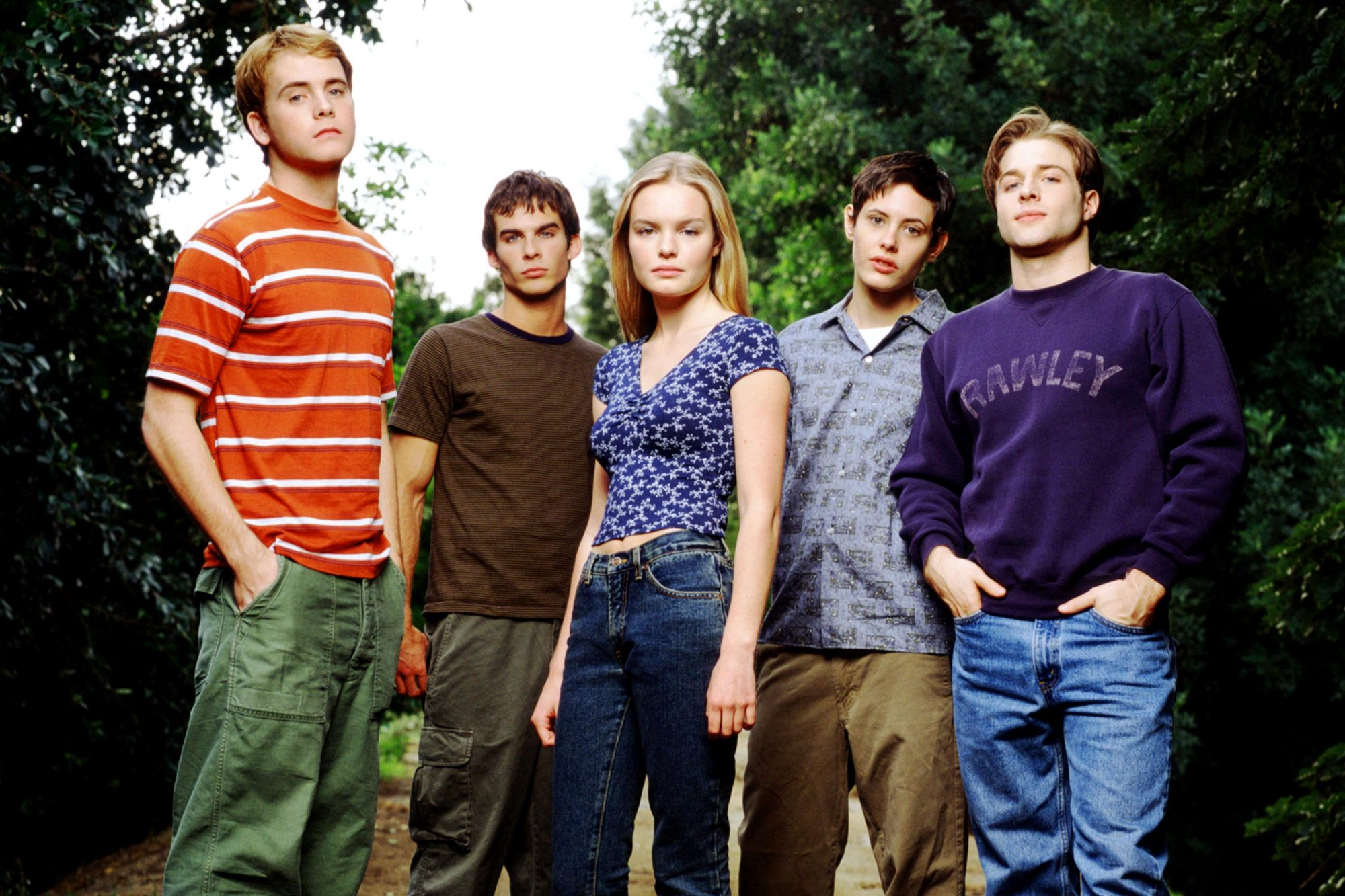 YOUNG AMERICANS, Rodney Scott, Ian Somerhalder, Kate Bosworth, Katherine Moennig, Mark Famiglietti,