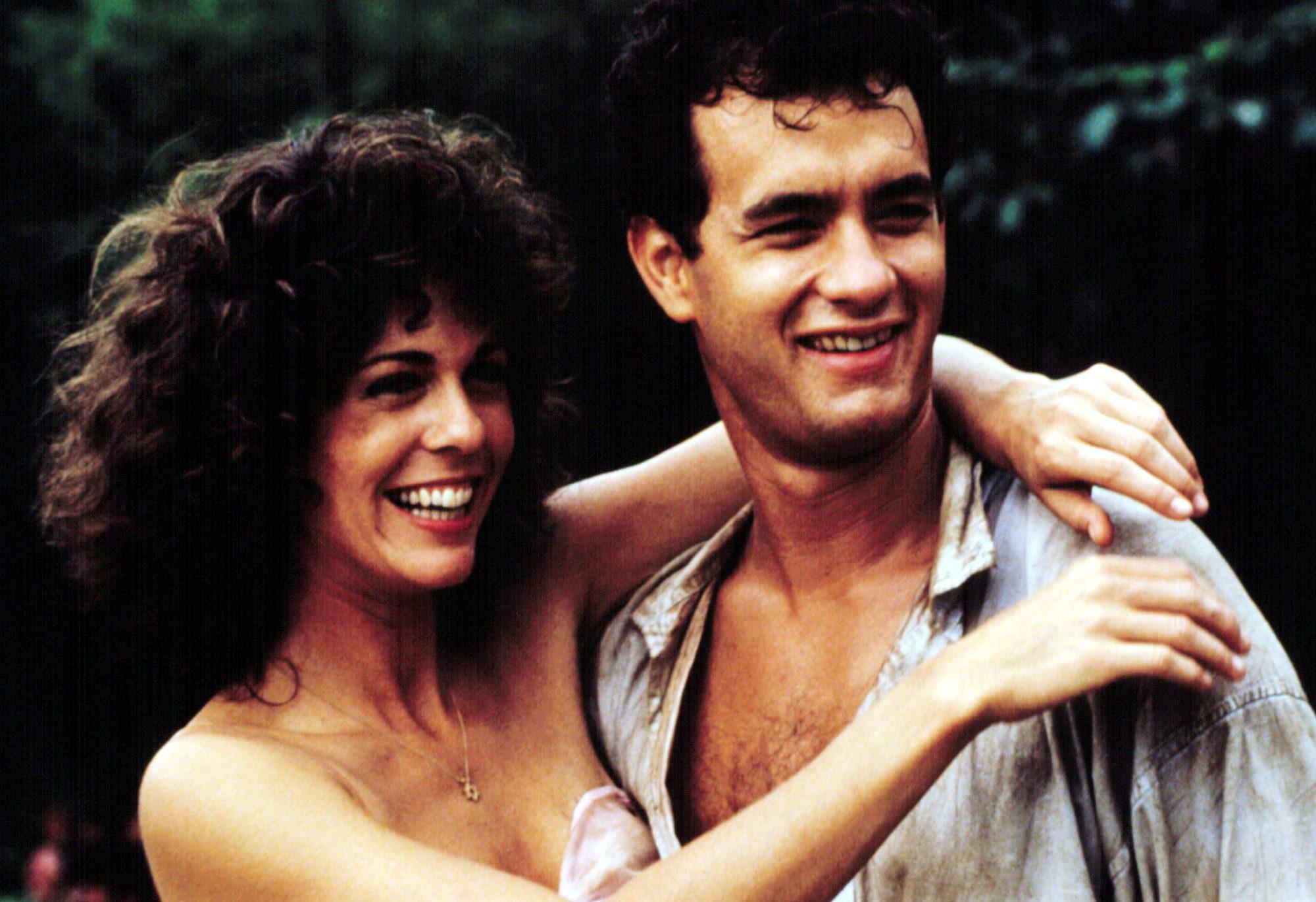 "VOLUNTEERS, Rita Wilson, Tom Hanks, 1985"""