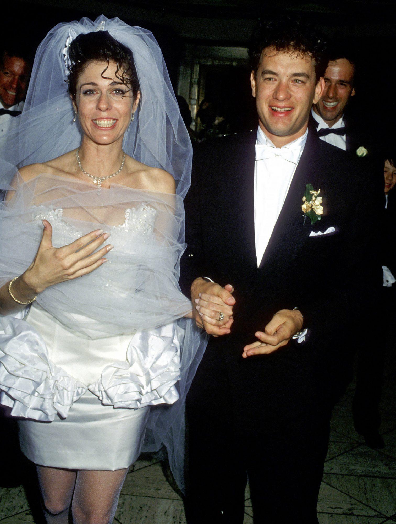 Tom Hanks and Rita Wilson Wedding Reception