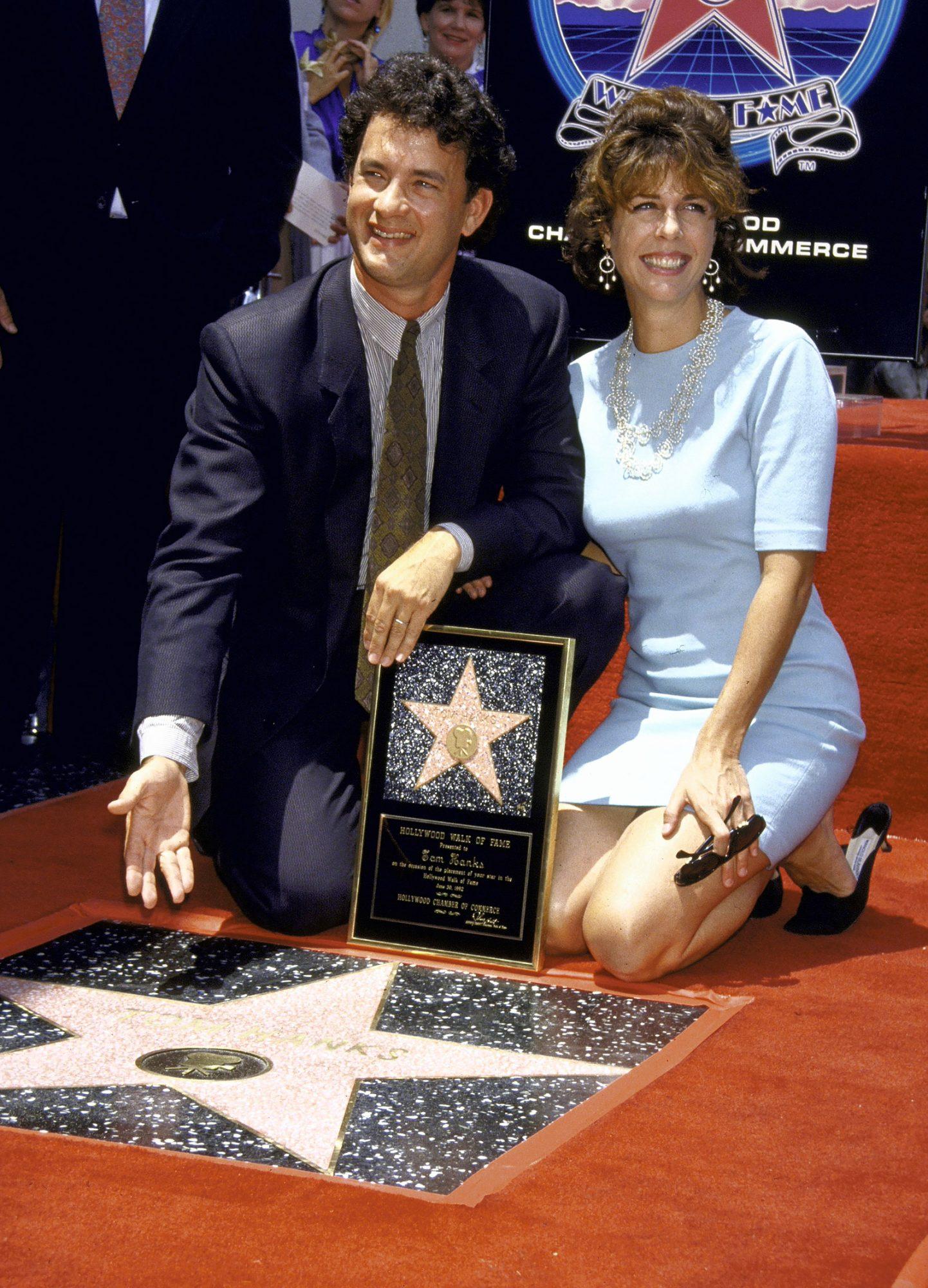 Rita Wilson;Tom Hanks [Misc.]