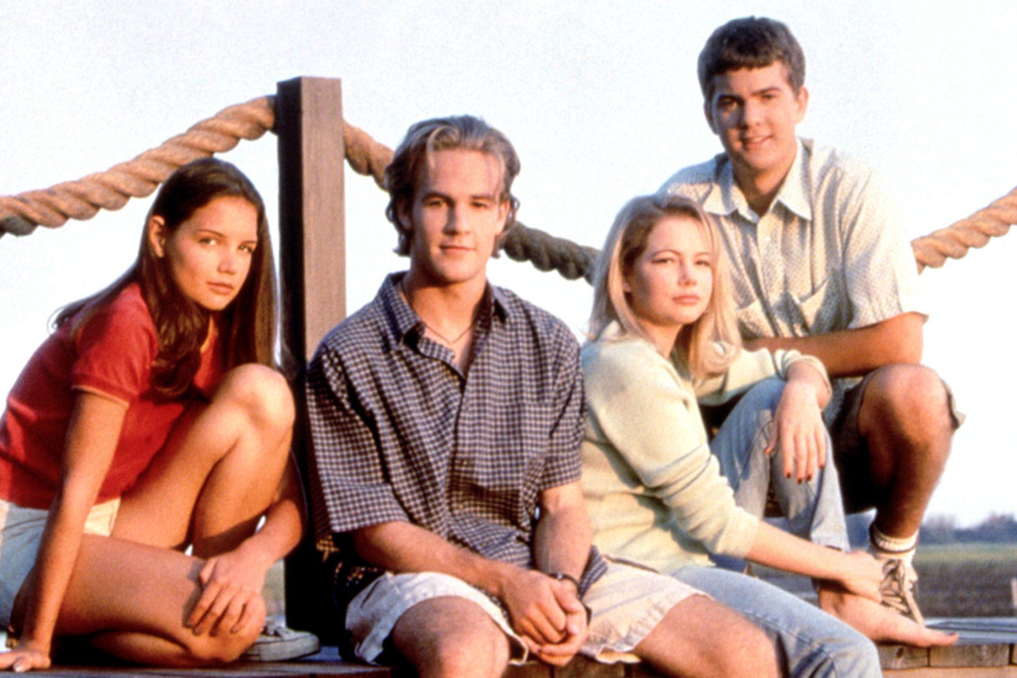 DAWSON'S CREEK, Katie Holmes, James Van Der Beek, Michelle Williams, Joshua Jackson, (Season 1), 199