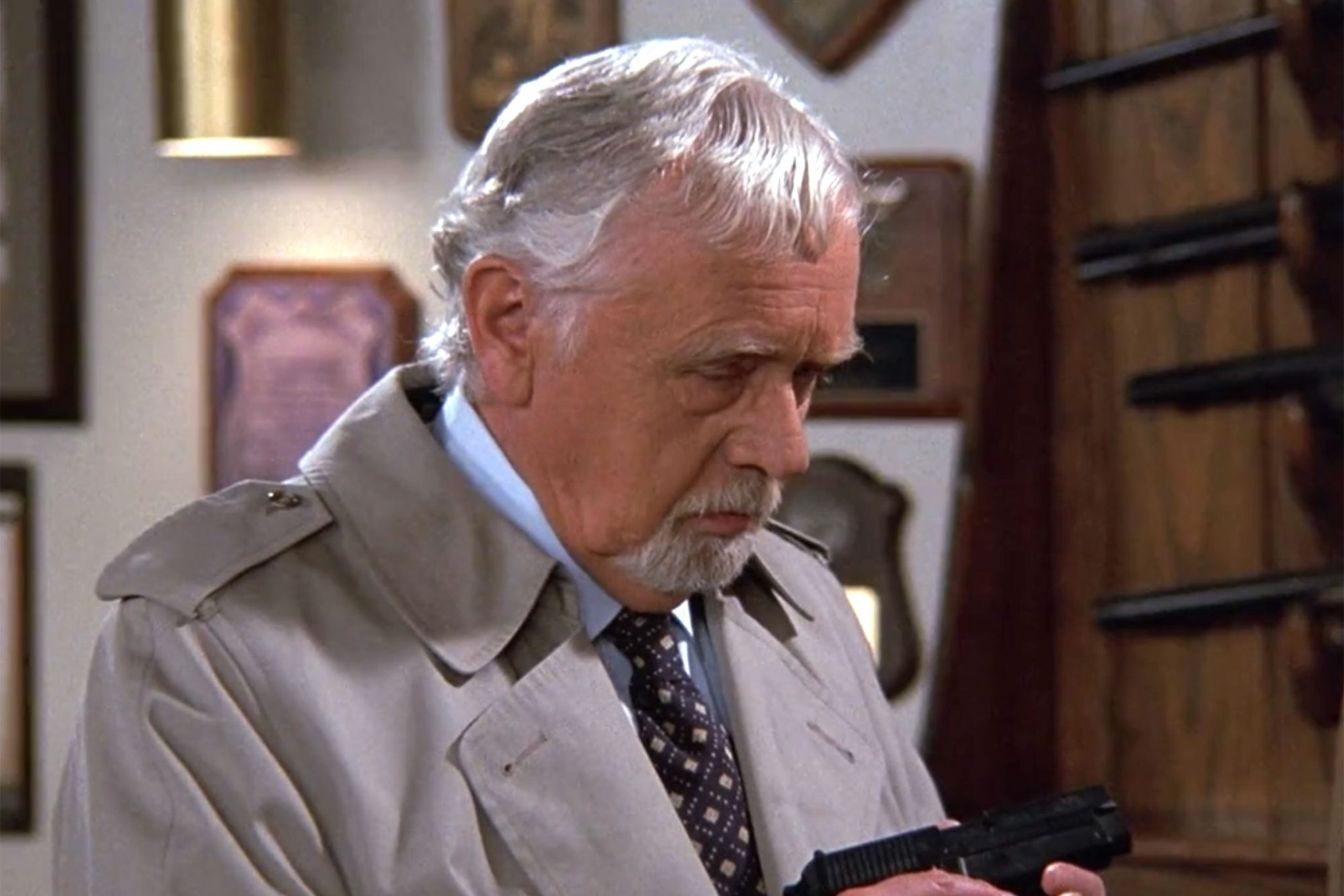 10.Warren Frost as Henry Ross