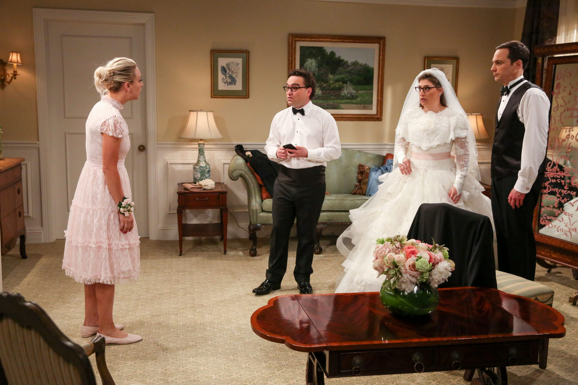 The Big Bang Theory Nuptials!