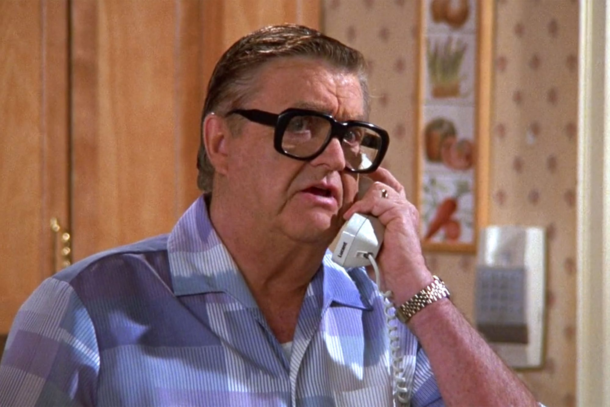 13. Barney Martin as Morty Seinfeld