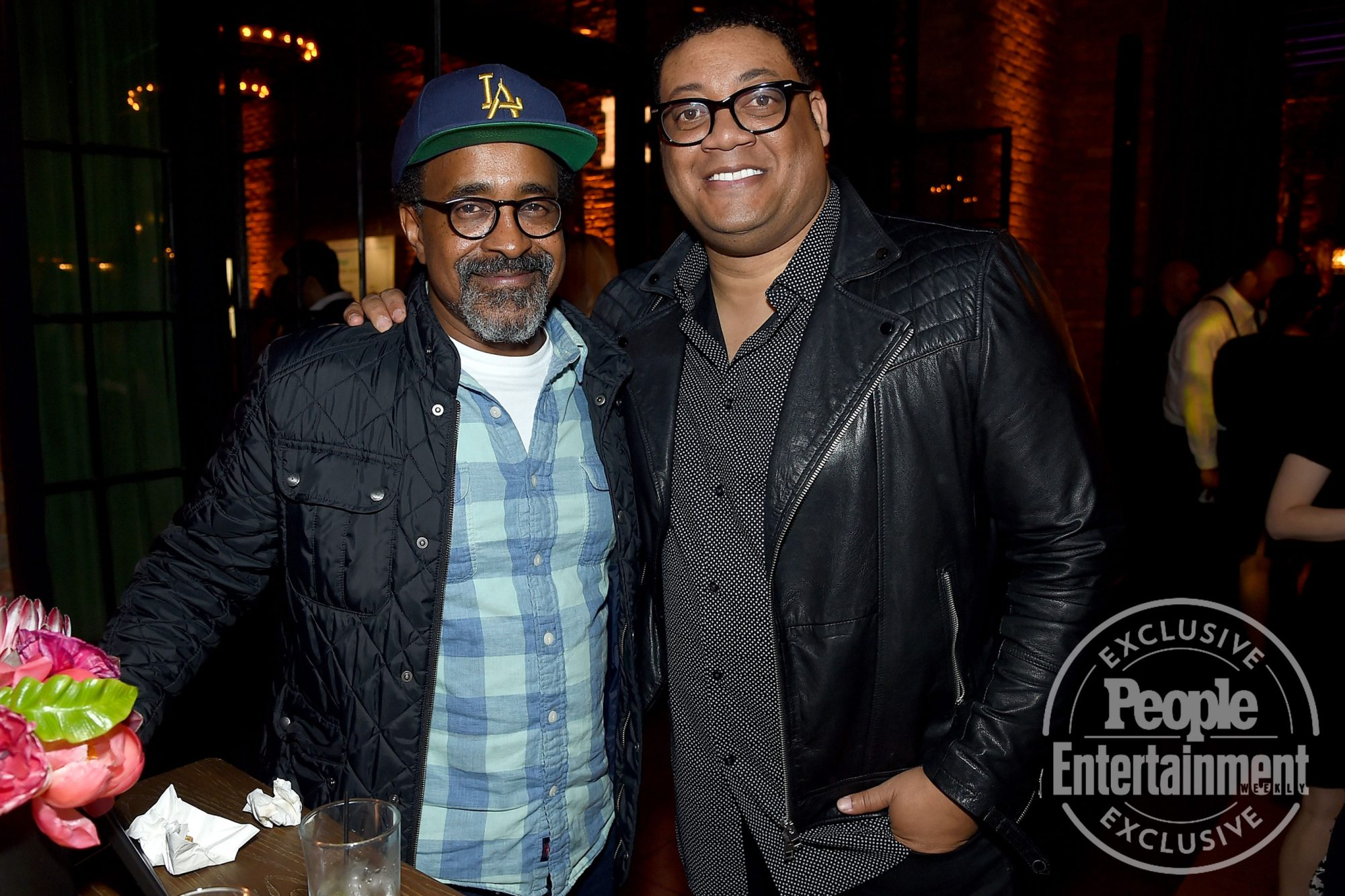 Tim Meadows (Schooled) and Cedric Yarbrough (Speechless)