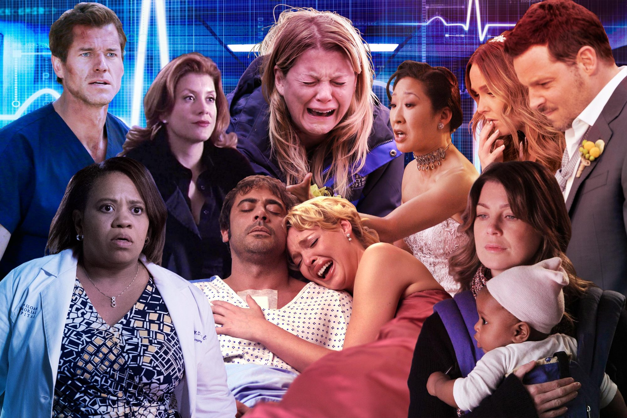 The dramatic days of Greys
