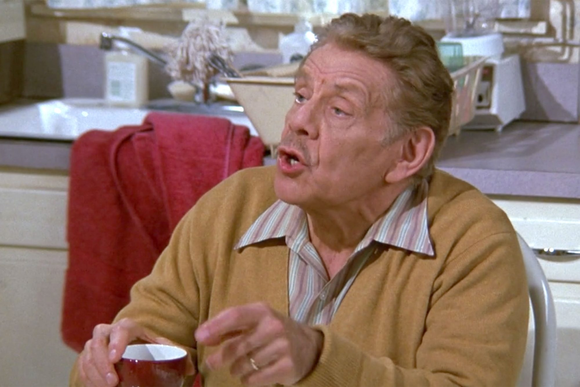 17. Jerry Stiller as Frank Costanza