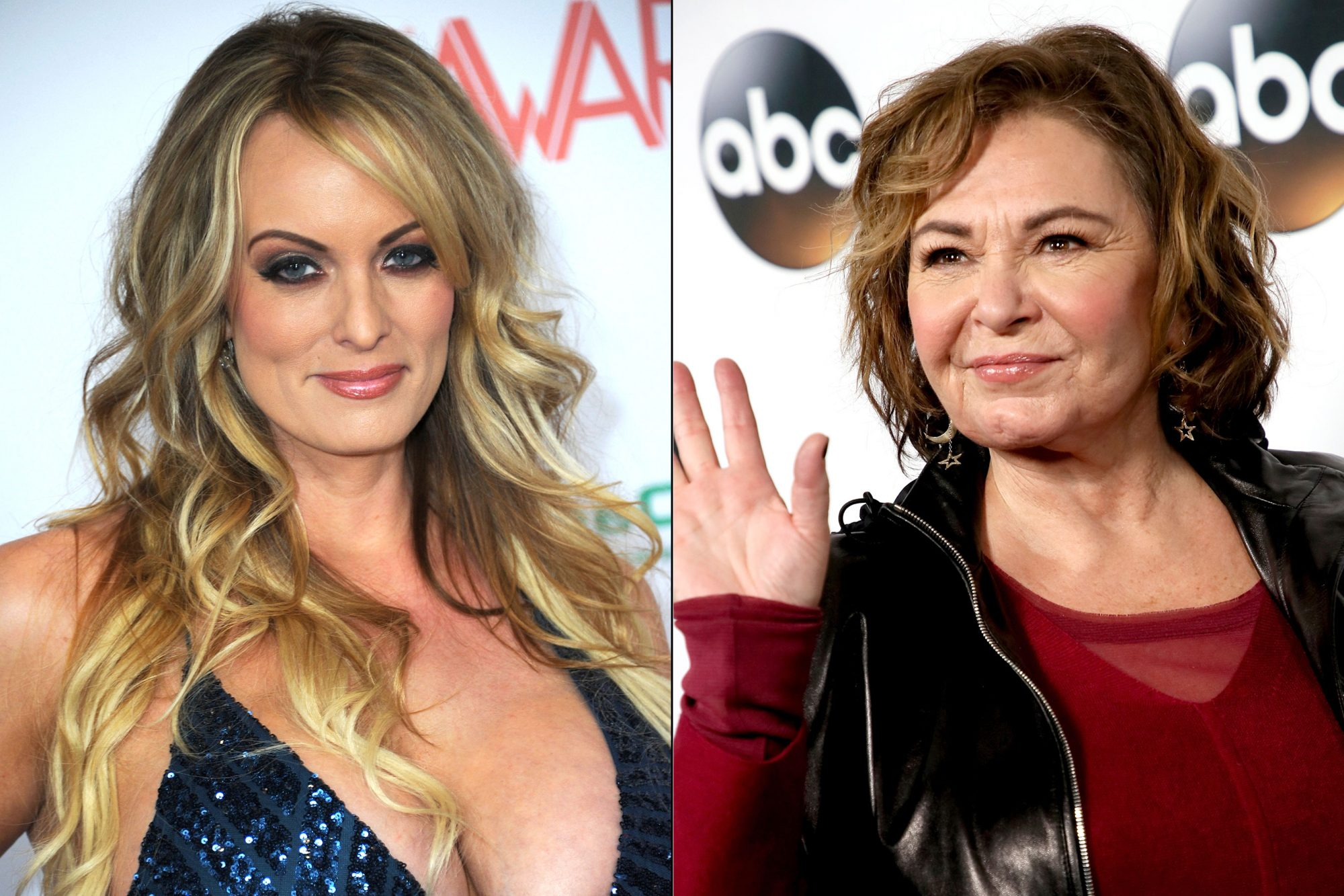 Actor Porno Madonna Sorry roseanne gets into feud with stormy daniels about anal sex