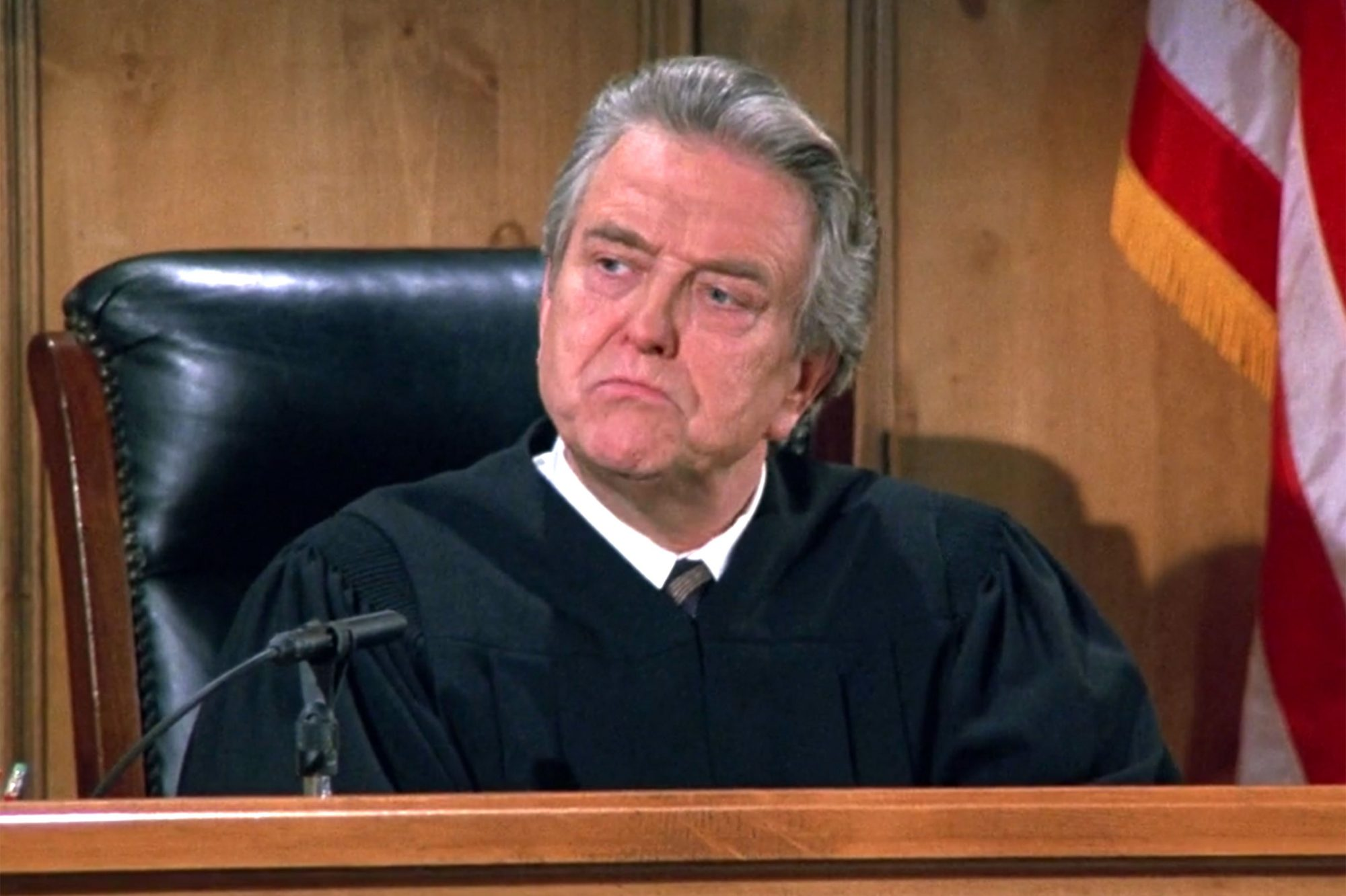 3.Stanley Anderson as Judge Arthur Vandelay (1)