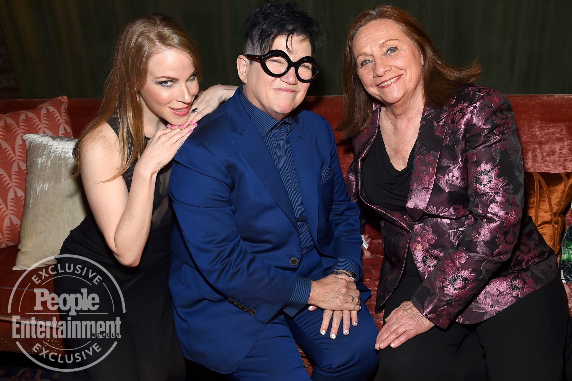 Emma Myles, Lea DeLaria and Dale Soules of Orange is The New Black