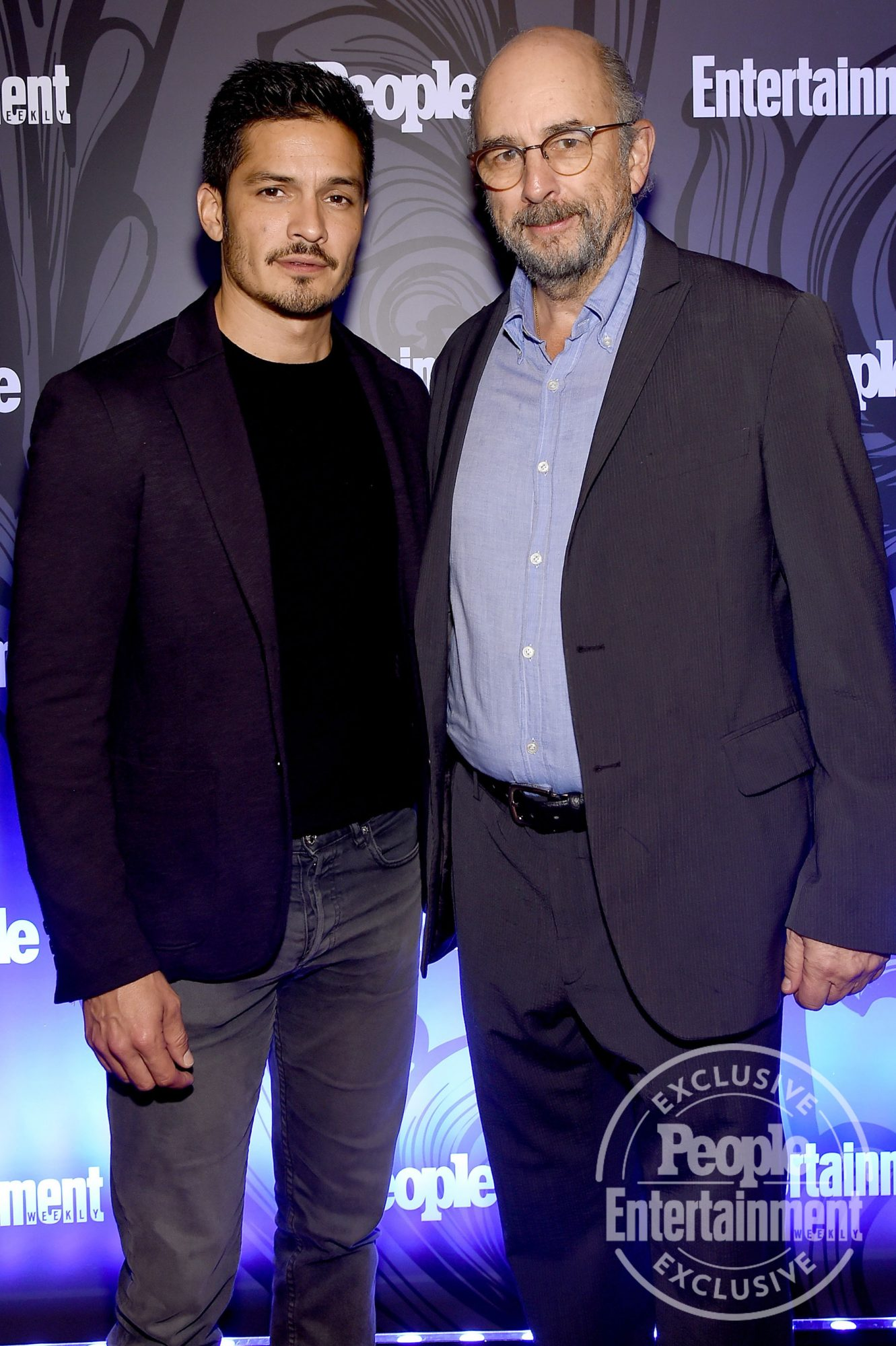 Nicholas Gonzalez and Richard Schiff of The Good Doctor