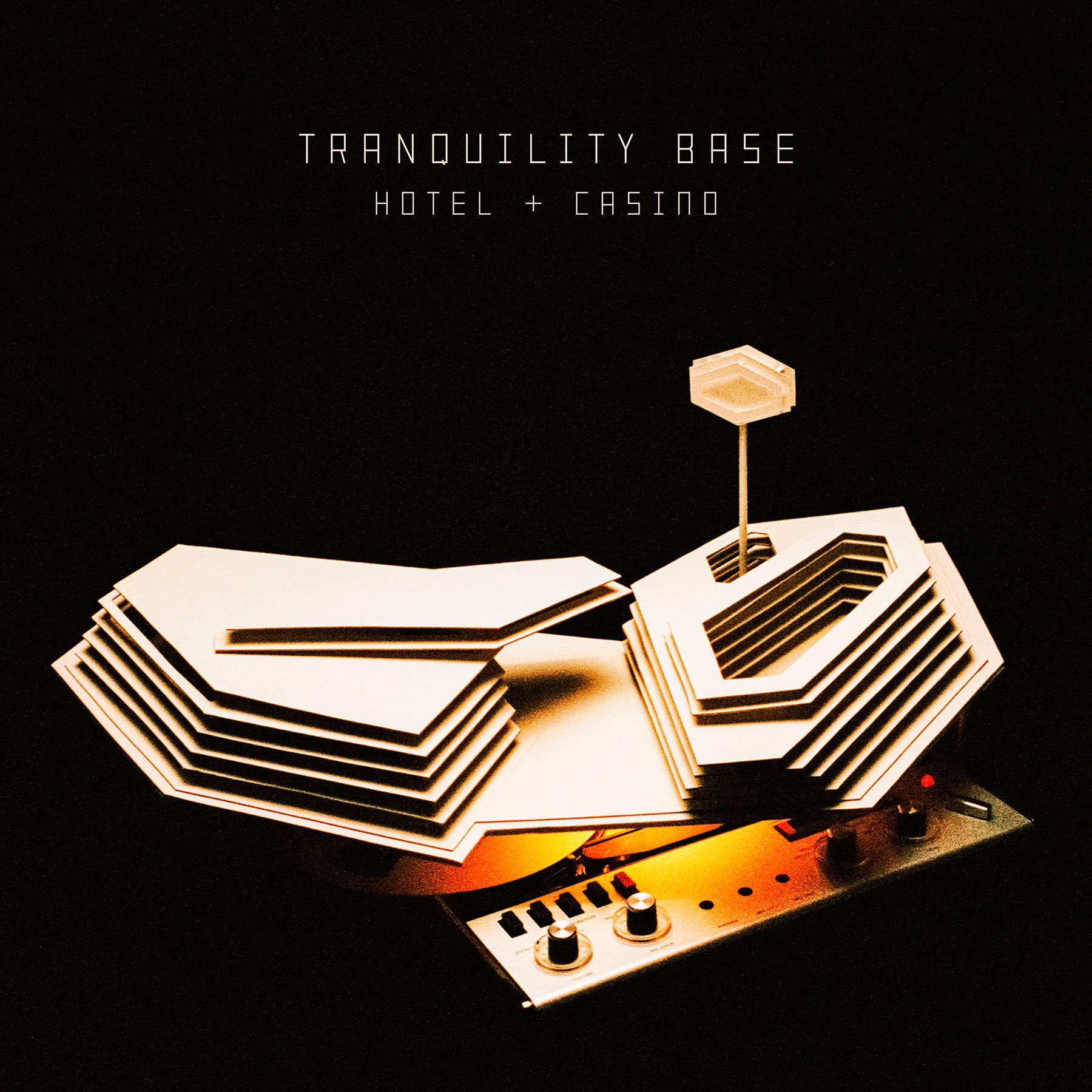 Arctic Monkeys'Tranquility Base Hotel & Casino'Album Cover