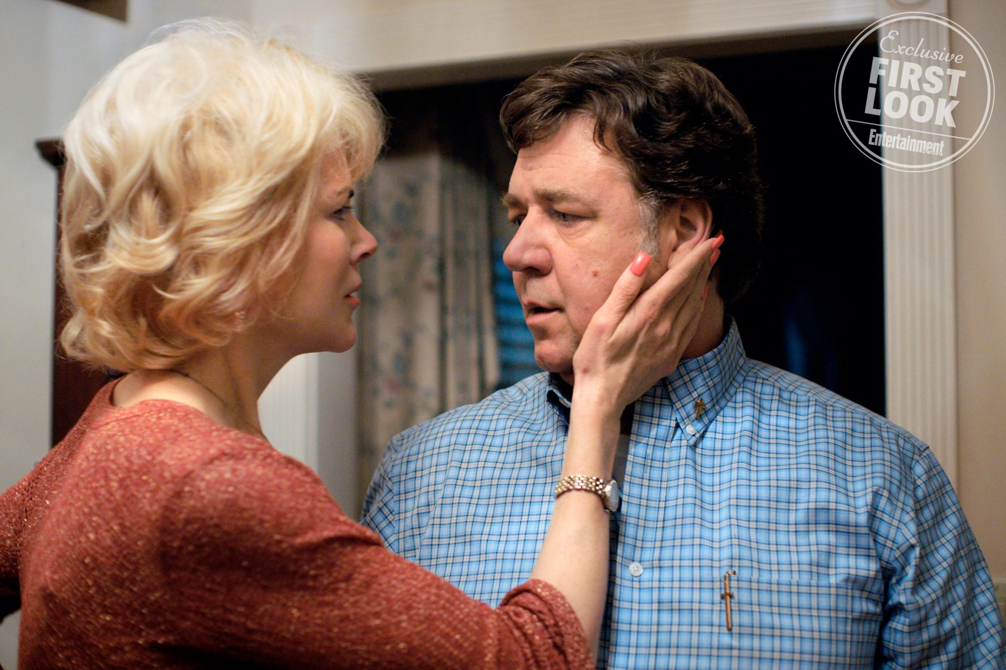 "BOY ERASEDNicole Kidman as ""Nancy"" and Russell Crowe as ""Marshall"""