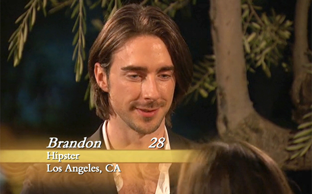 """Hipster,"" Brandon Howell on Season 12 of The Bachelorette"