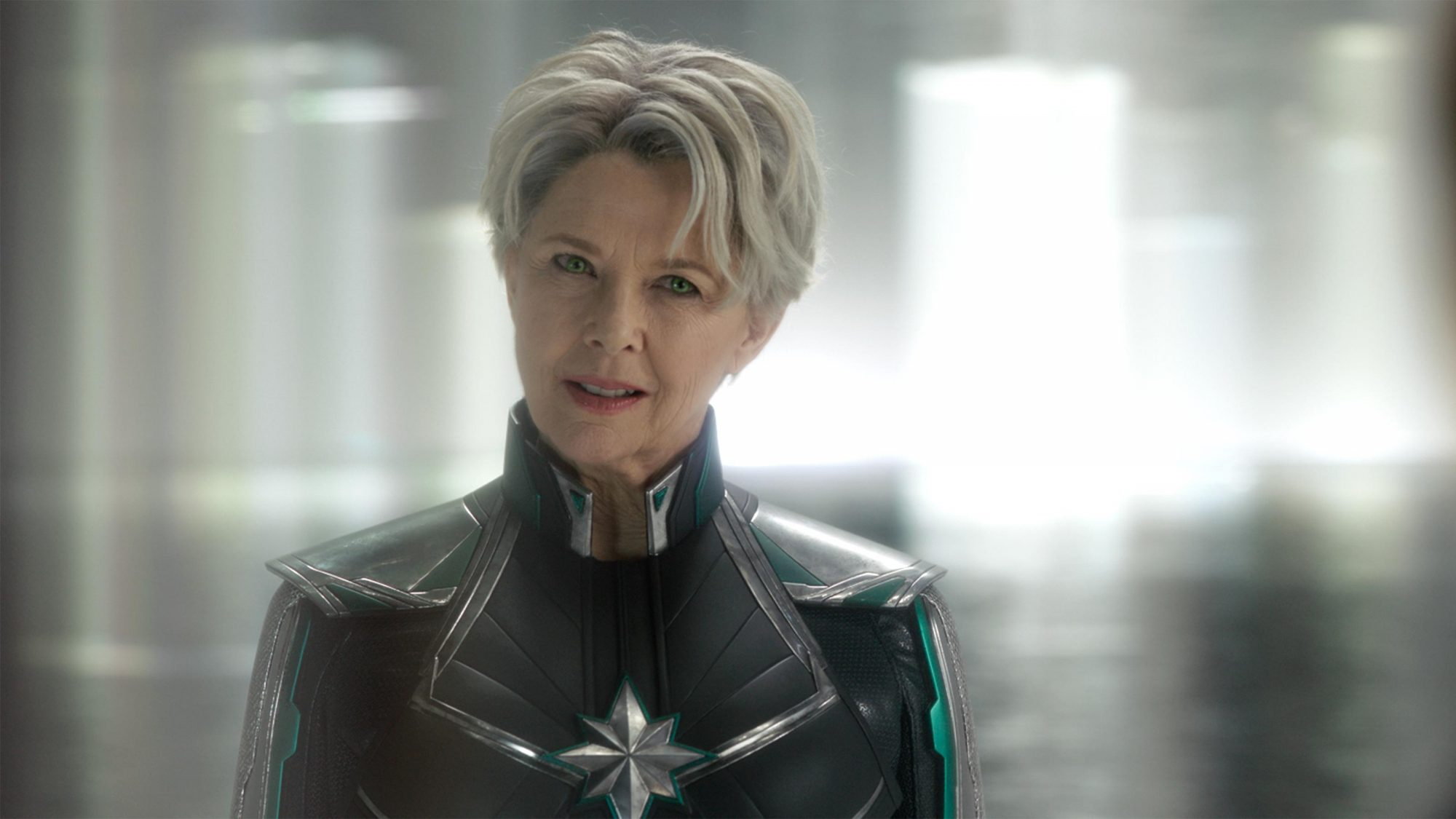 Marvel Studios' CAPTAIN MARVEL..Supreme Intelligence (Annette Bening)..Photo: Film Frame..©Marvel Studios 2019