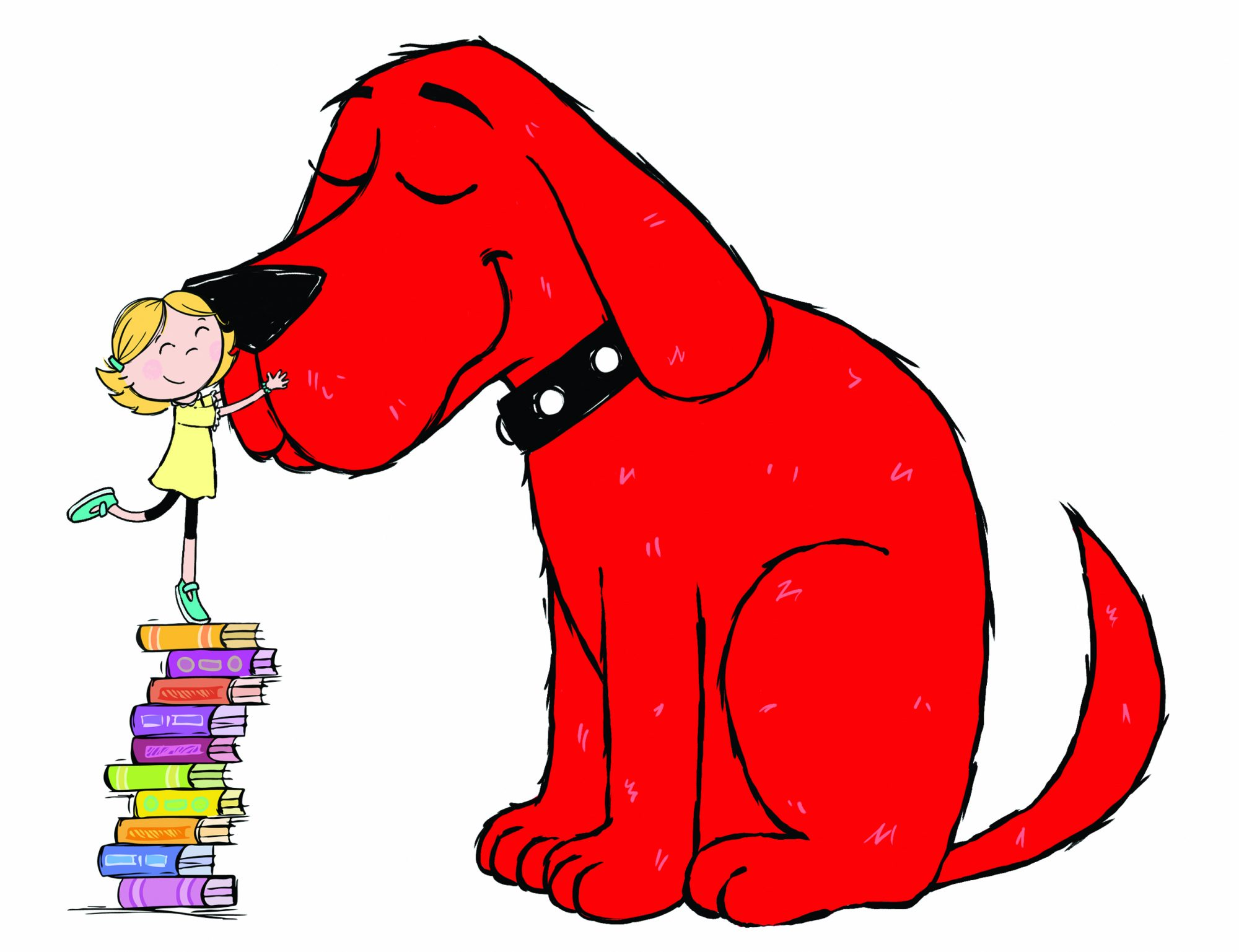 Clifford the Big Red Dog - EE and Clifford[6]