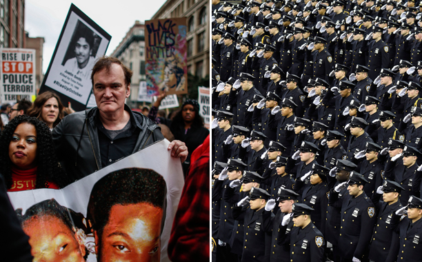 Quentin Tarantino and Police Unions
