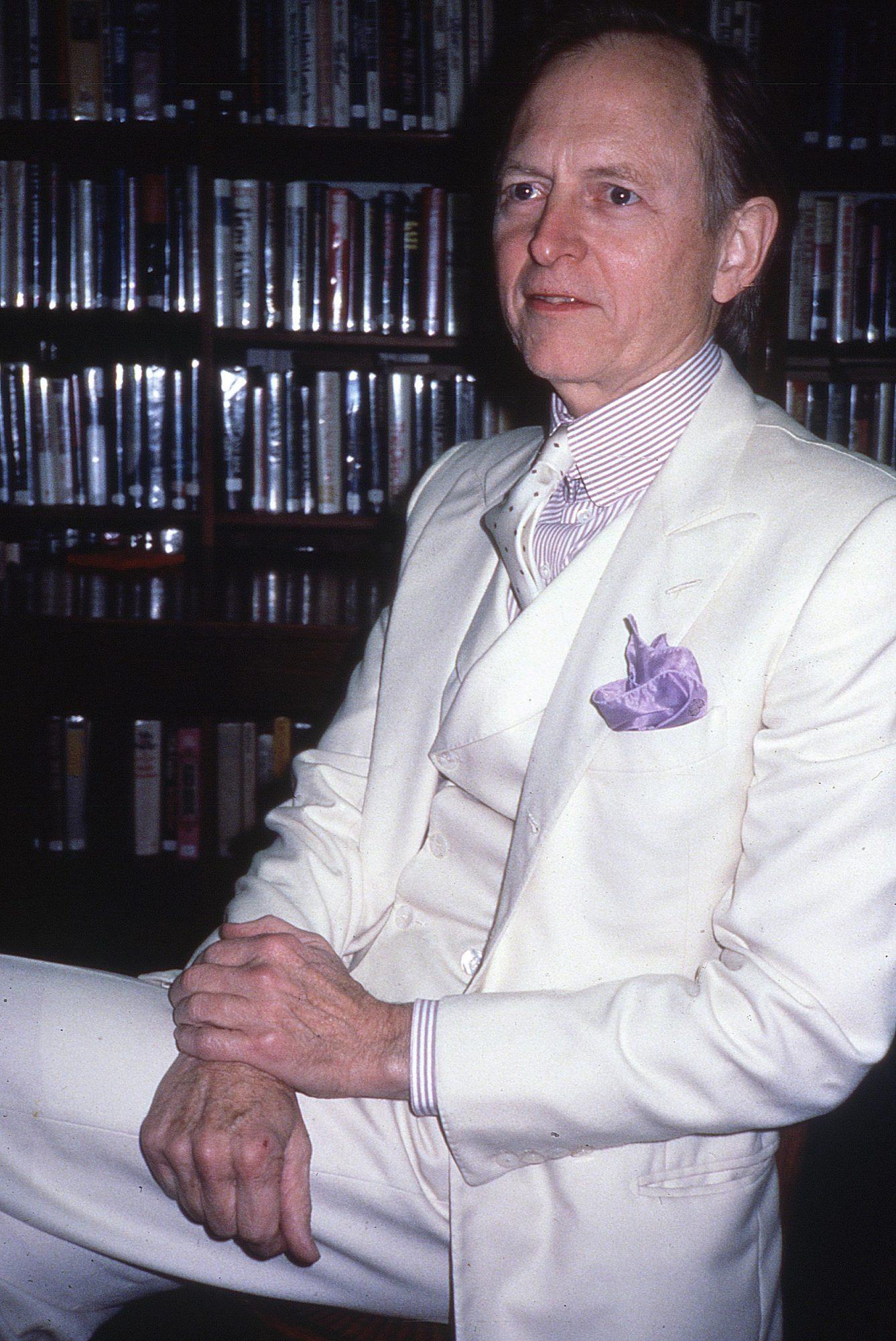 Author Tom Wolfe