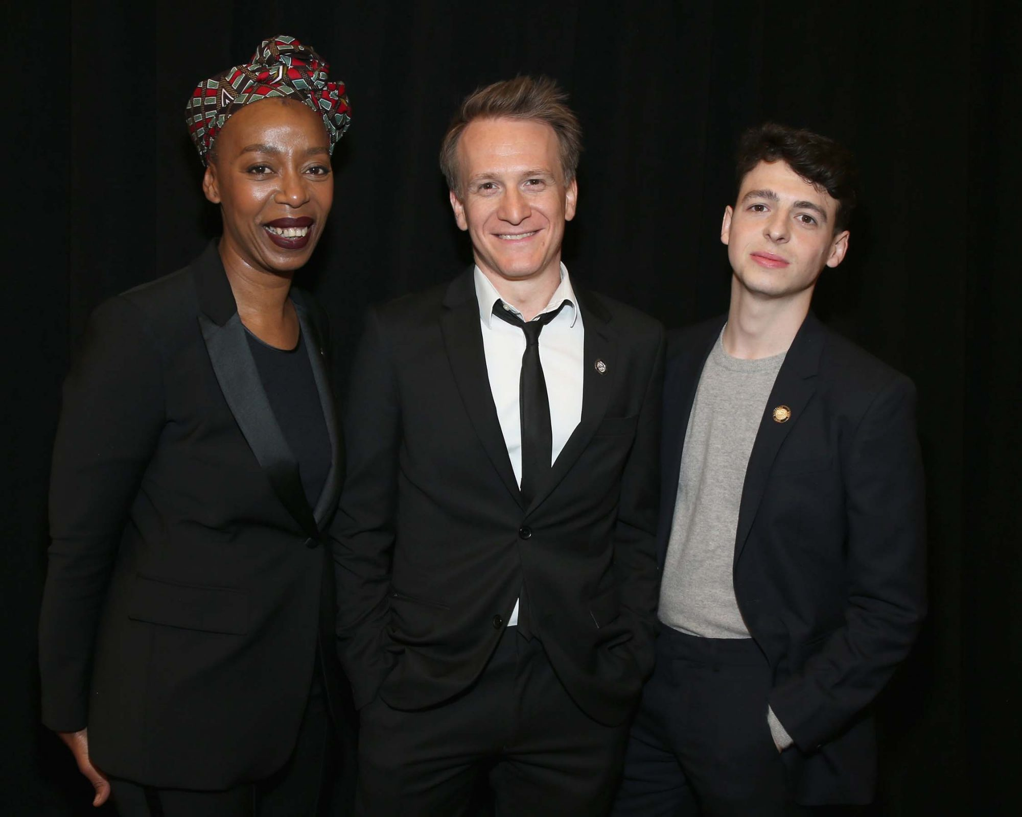 Noma Dumezweni, Jamie Parker, and Anthony Boyle (Harry Potter and the Cursed Child, Parts One and Two)