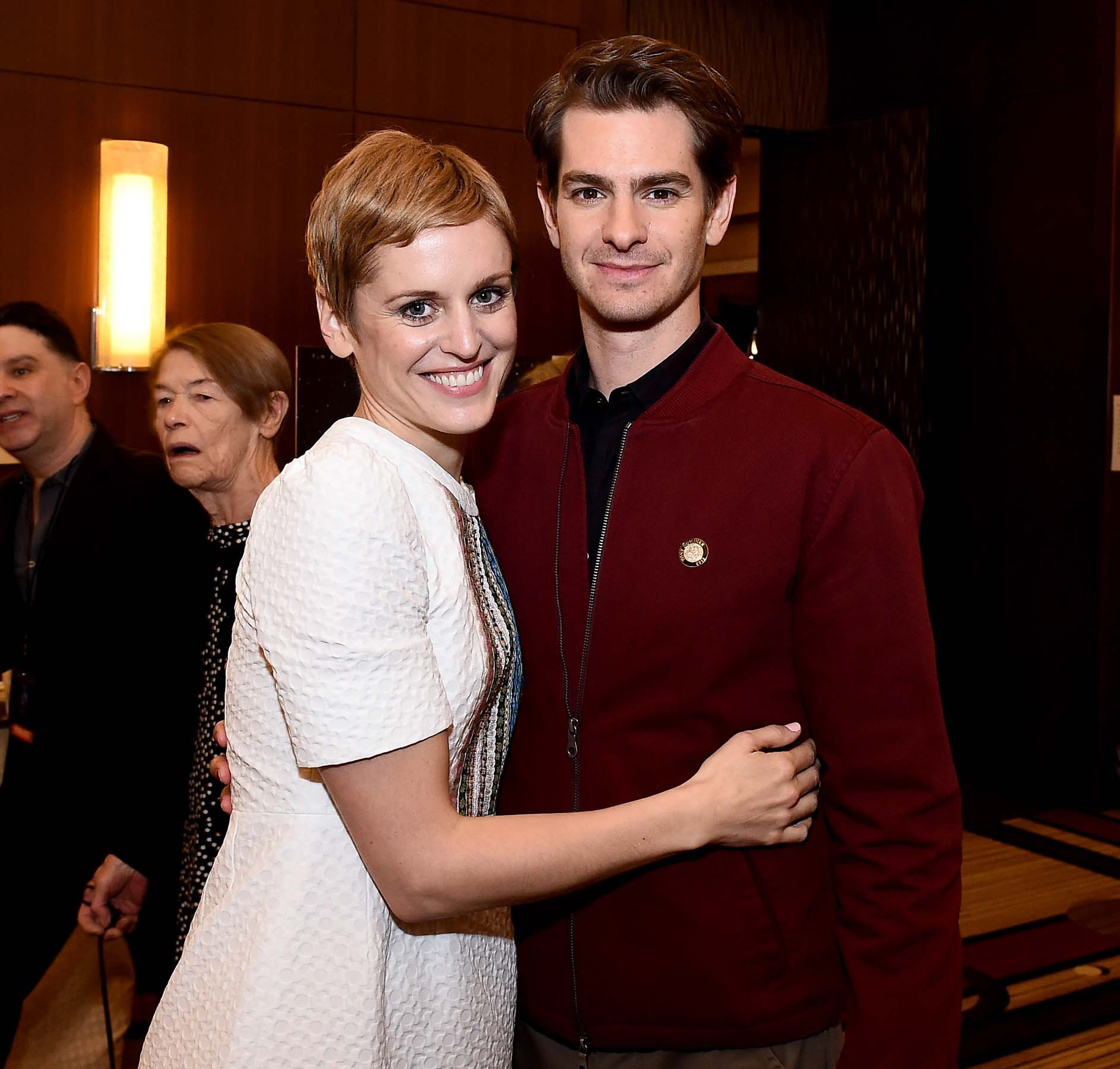 Denise Gough and Andrew Garfield (Angels in America)