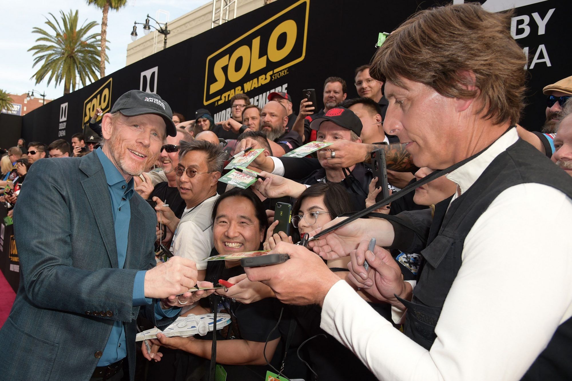 "Premiere Of Disney Pictures And Lucasfilm's ""Solo: A Star Wars Story"" - Red Carpet"