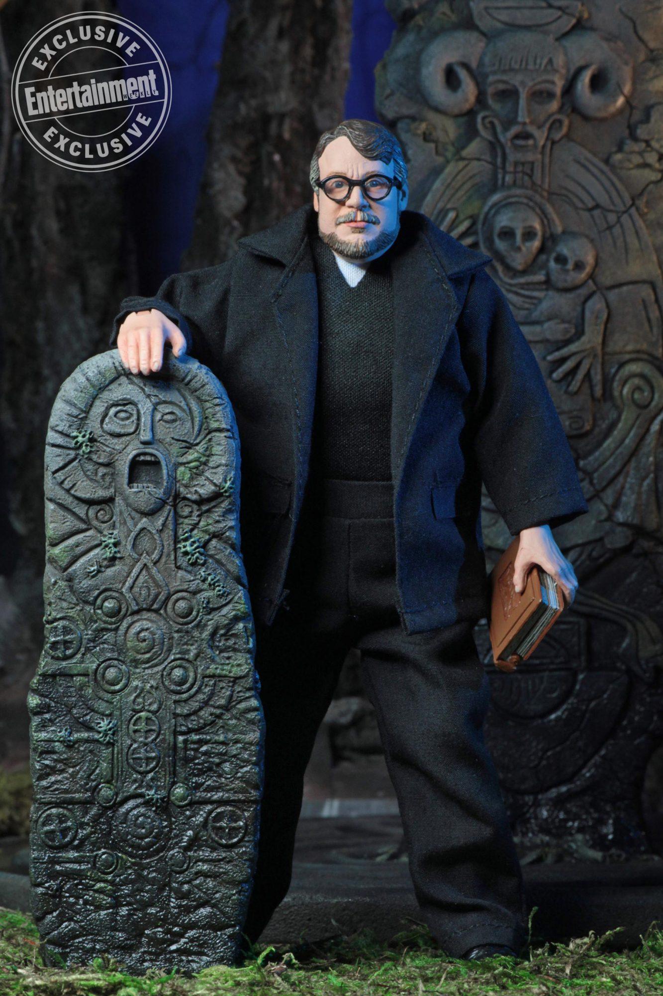 NECA's Guillermo del Toro action figures