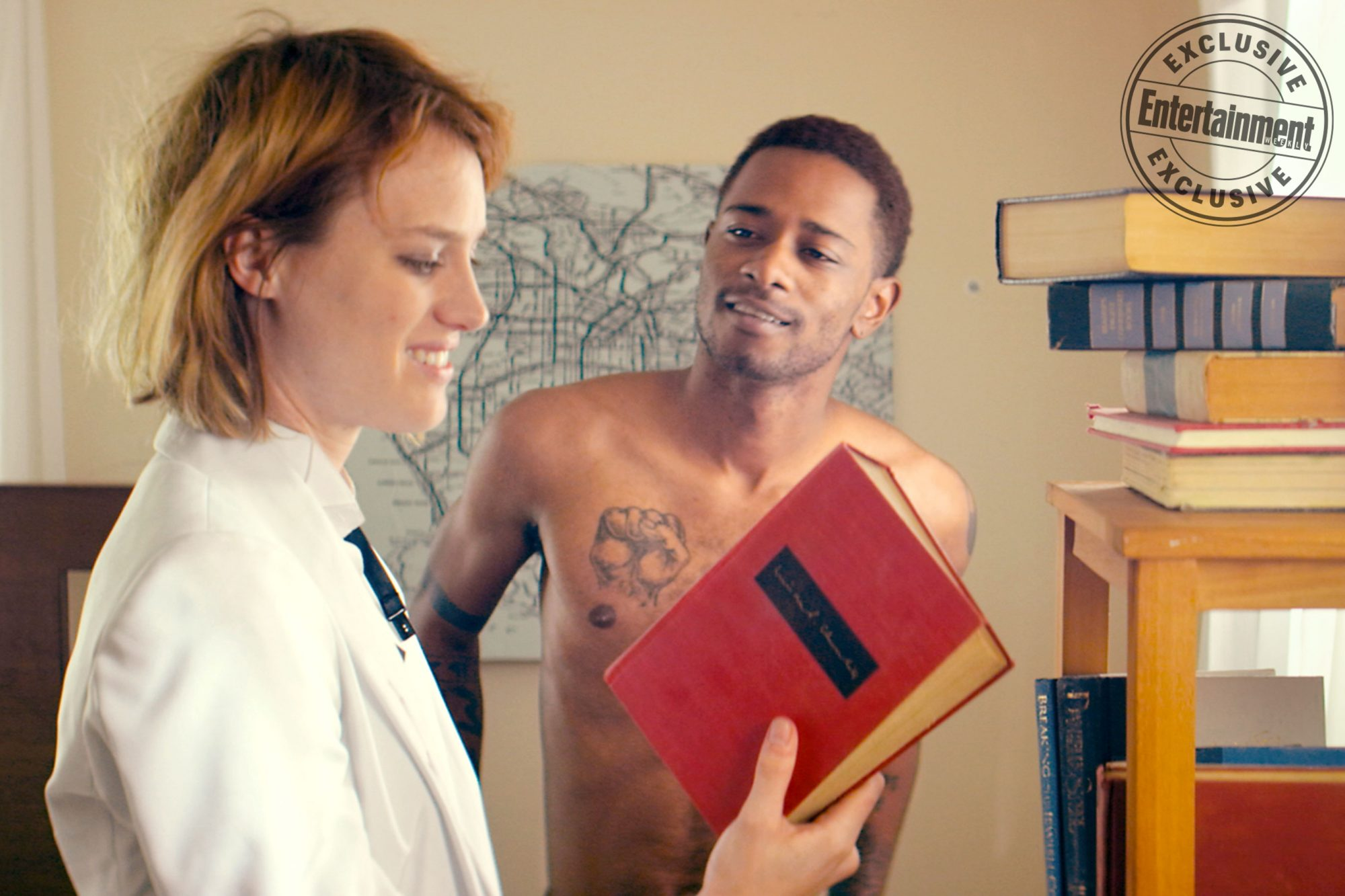 Izzy Gets The F*ck Across TownMackenzie Davis and Lakeith Stanfield