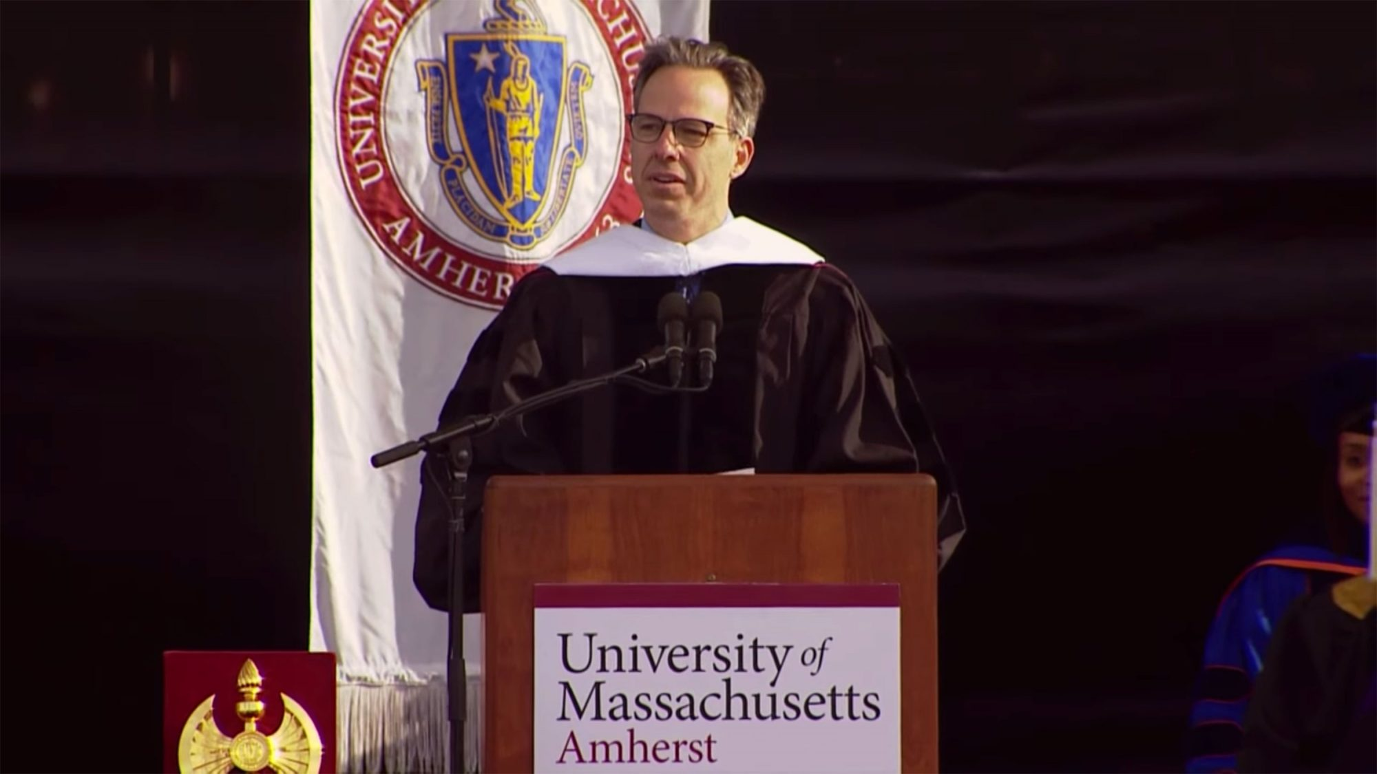 Jake Tapper (UMass Amherst, May 11, 2018)