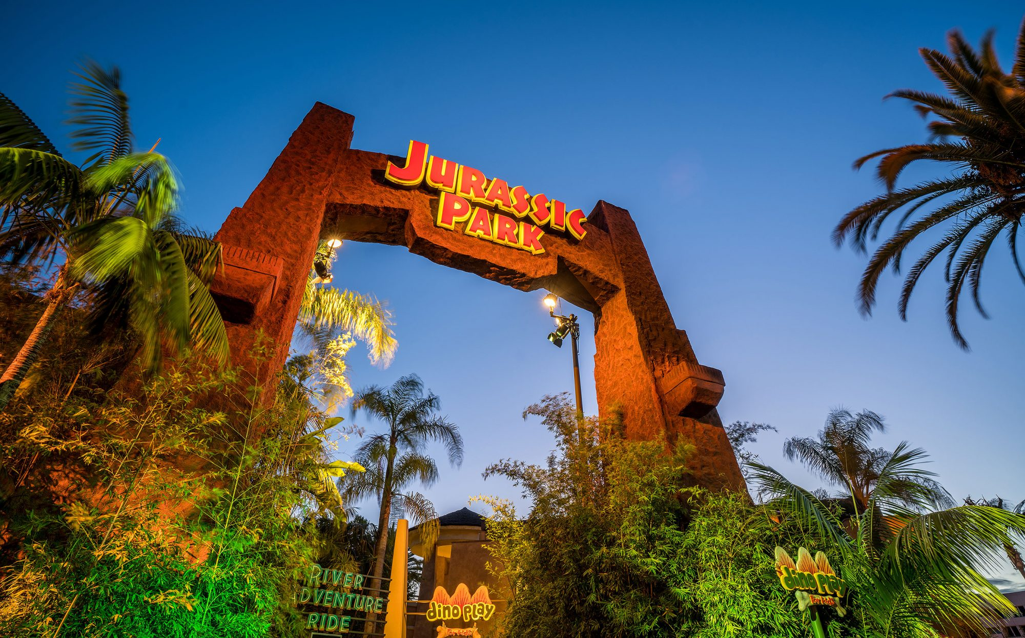Jurassic Park rideCredit: Universal Studios