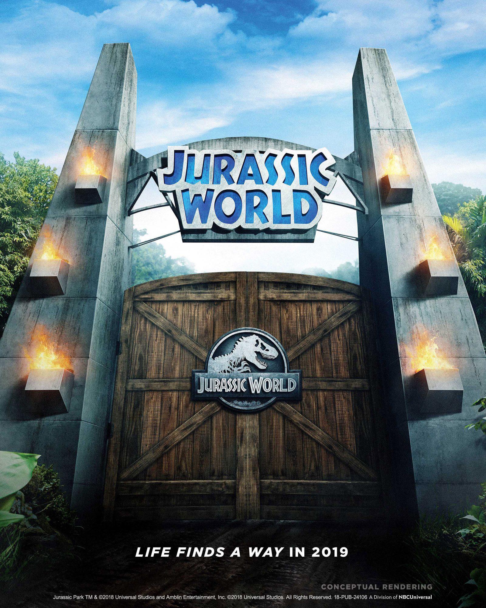 Jurassic World at UniversalCredit: Universal