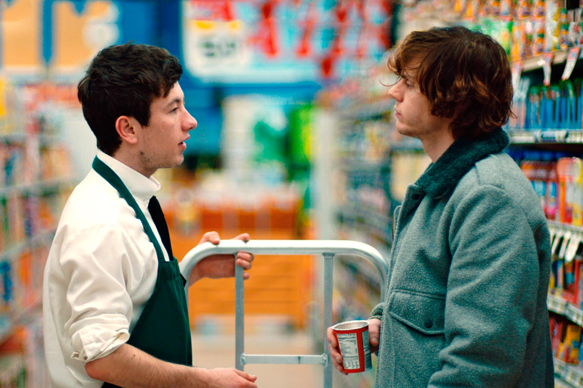 American AnimalsL to R: Barry Keoghan, Evan Peters