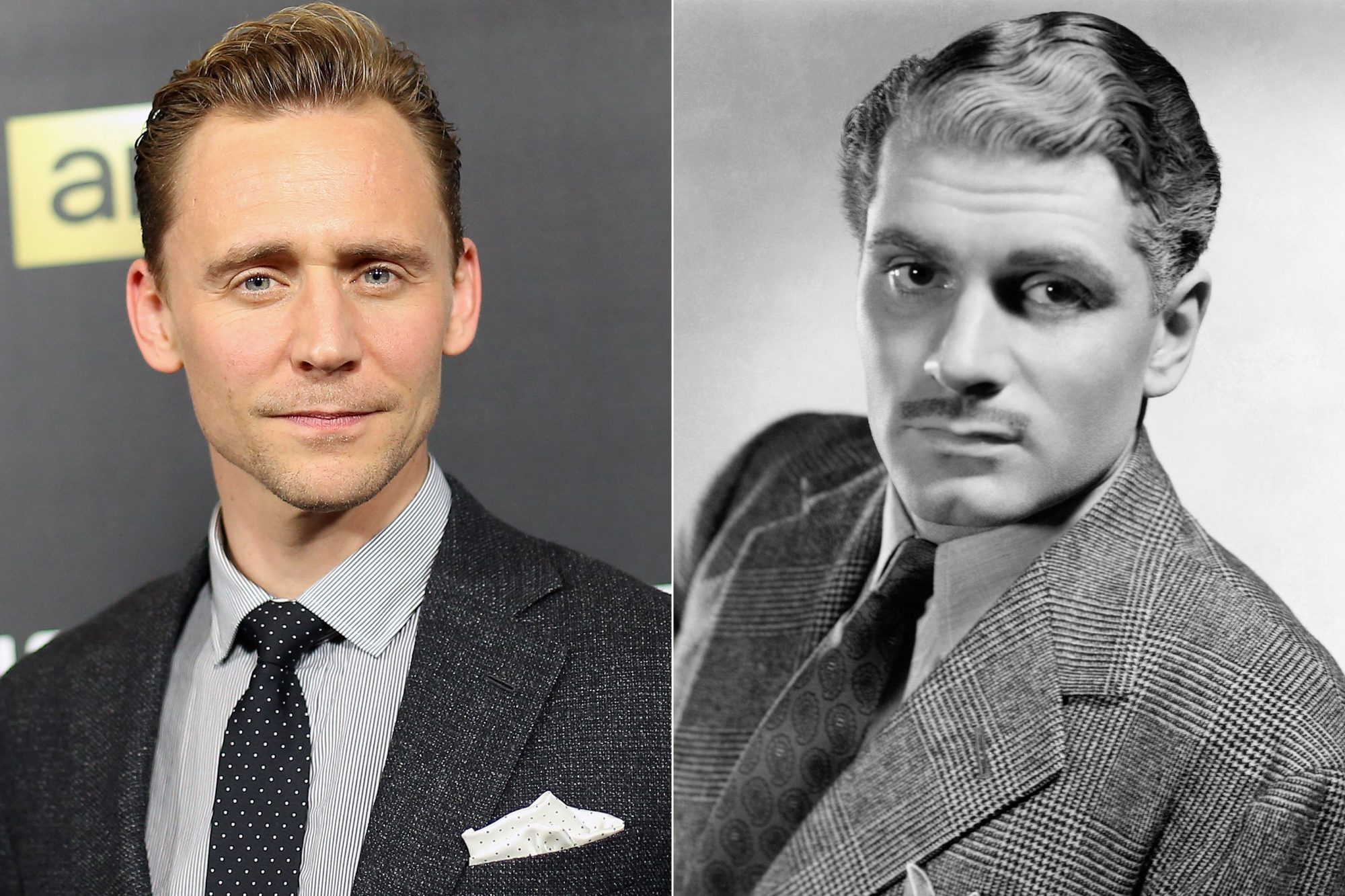 Laurence Olivier and Tom Hiddleston